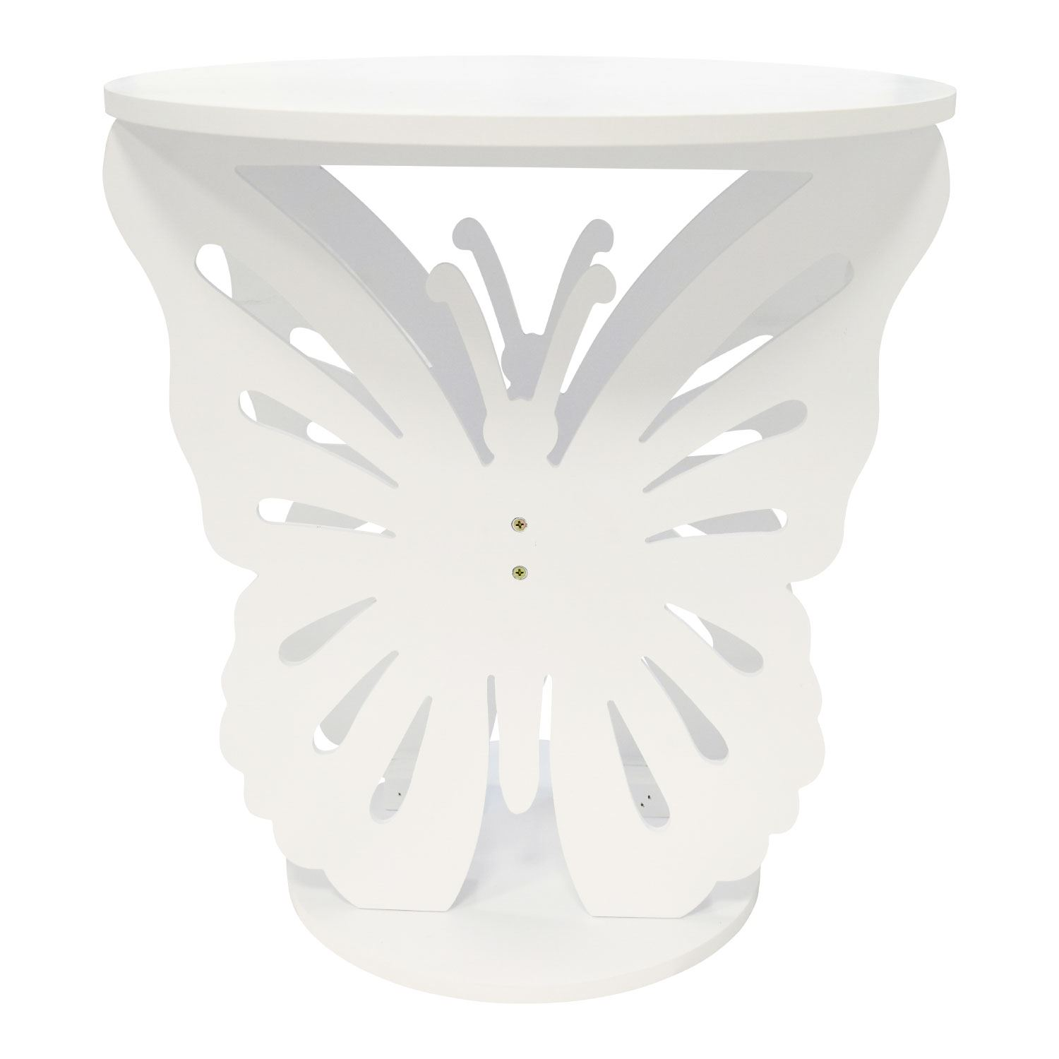 CHILDREN-039-S-WOODEN-BUTTERFLY-TABLE-ROUND-SIDE-END-LAMP-TABLE-KIDS-GIRLS-BEDROOM thumbnail 6