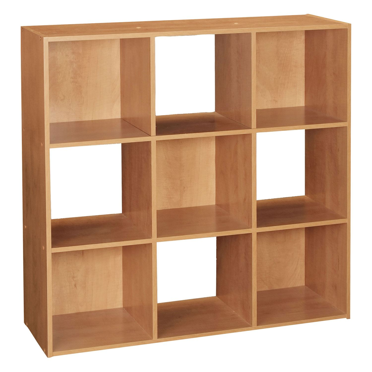9 cube wooden display storage shelf bookcase shelves shelving