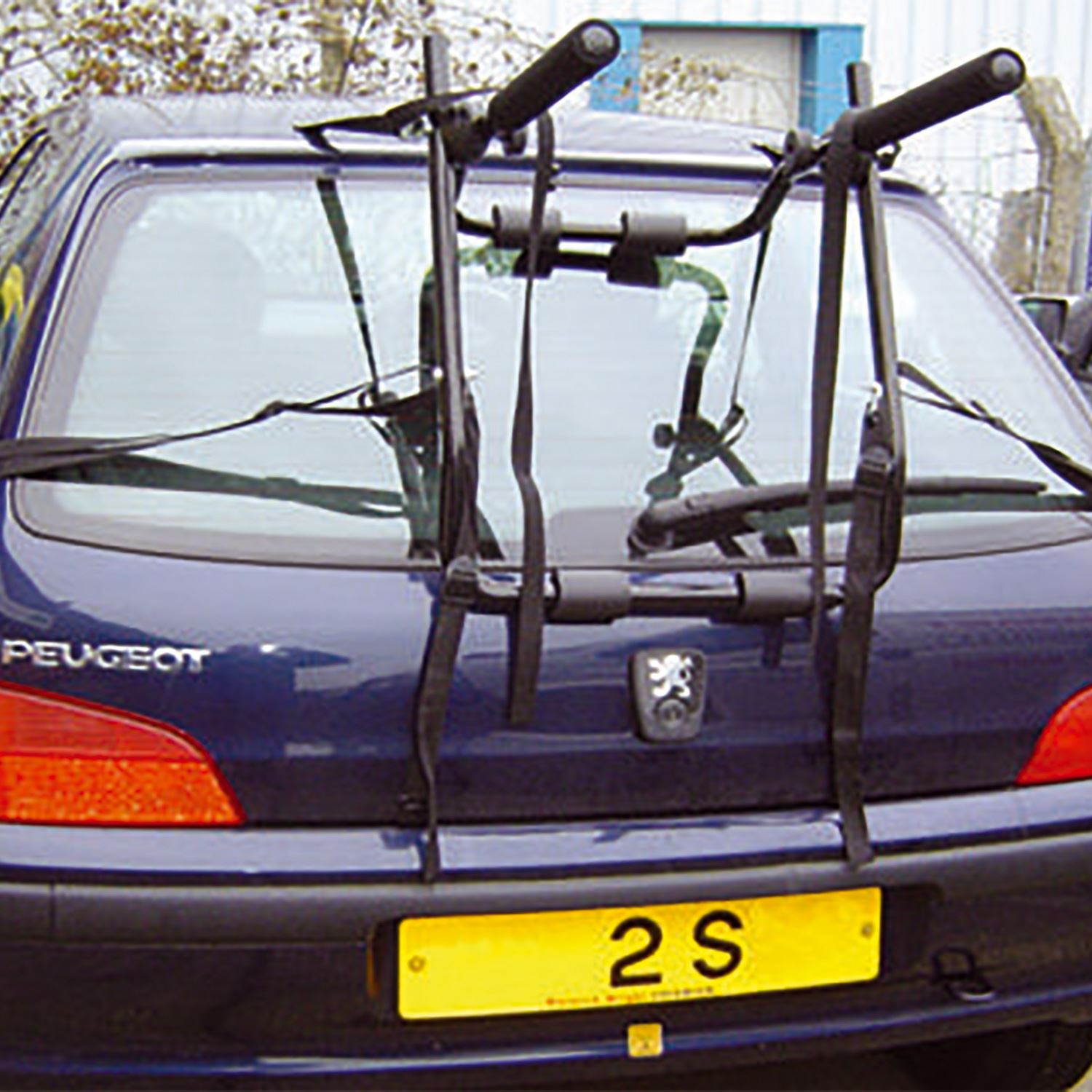 rear triple cycle for holder ebay mount bicycle carrier itm car bike s rack