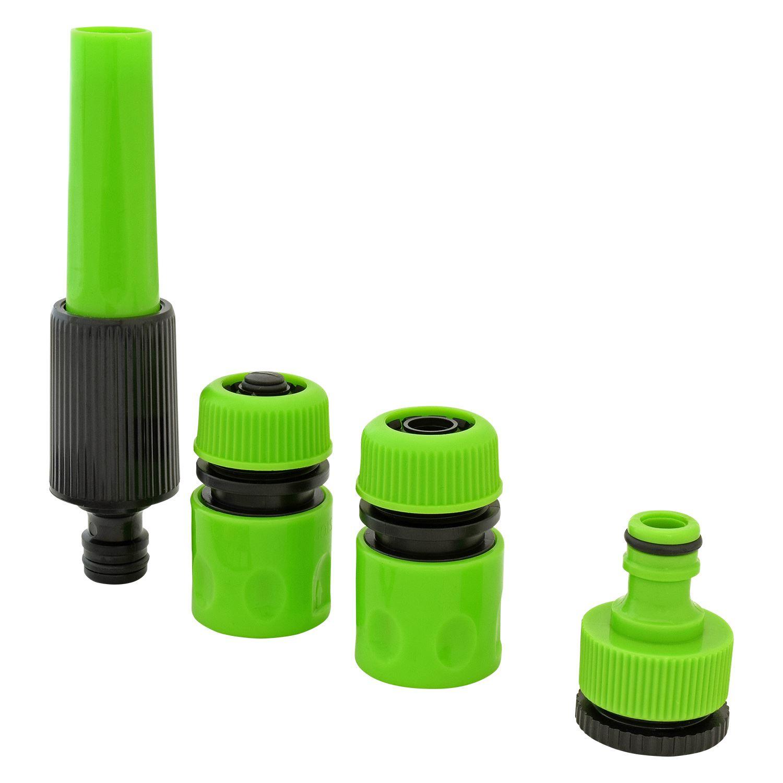 Image result for mobile responsive images  sc 1 st  eBay & 5 Pcs Garden Hose Connector Set Spray Gun Nozzle Tap Fitting ...