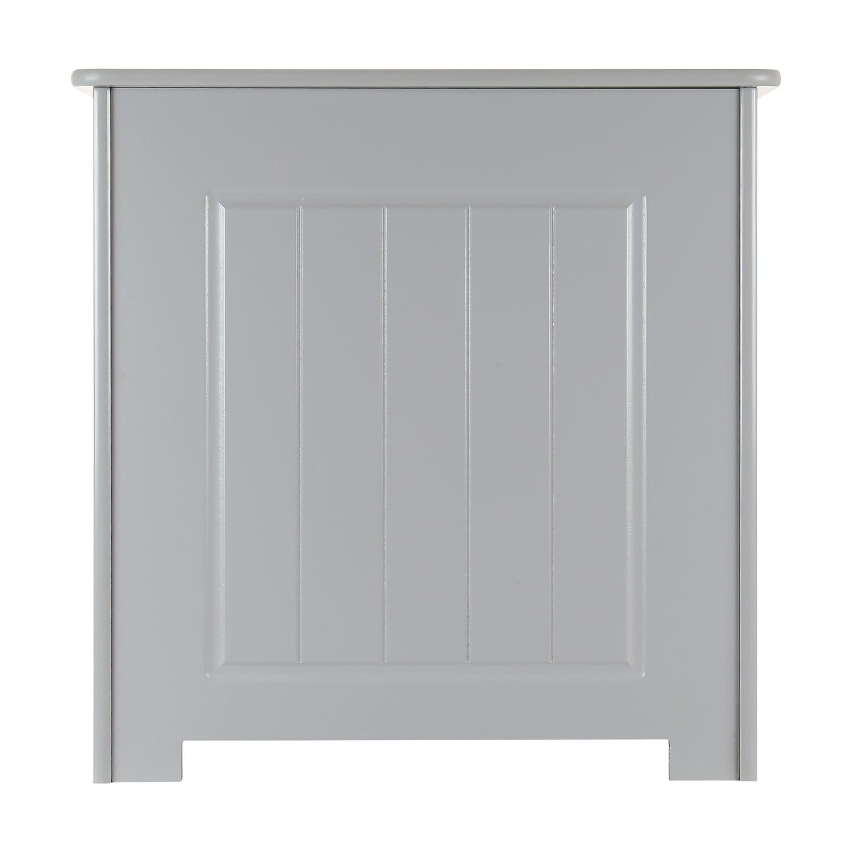 Grey-Wooden-Bathroom-Cabinet-Shelf-Cupboard-Bedroom-Storage-Unit-Free-Standing thumbnail 38