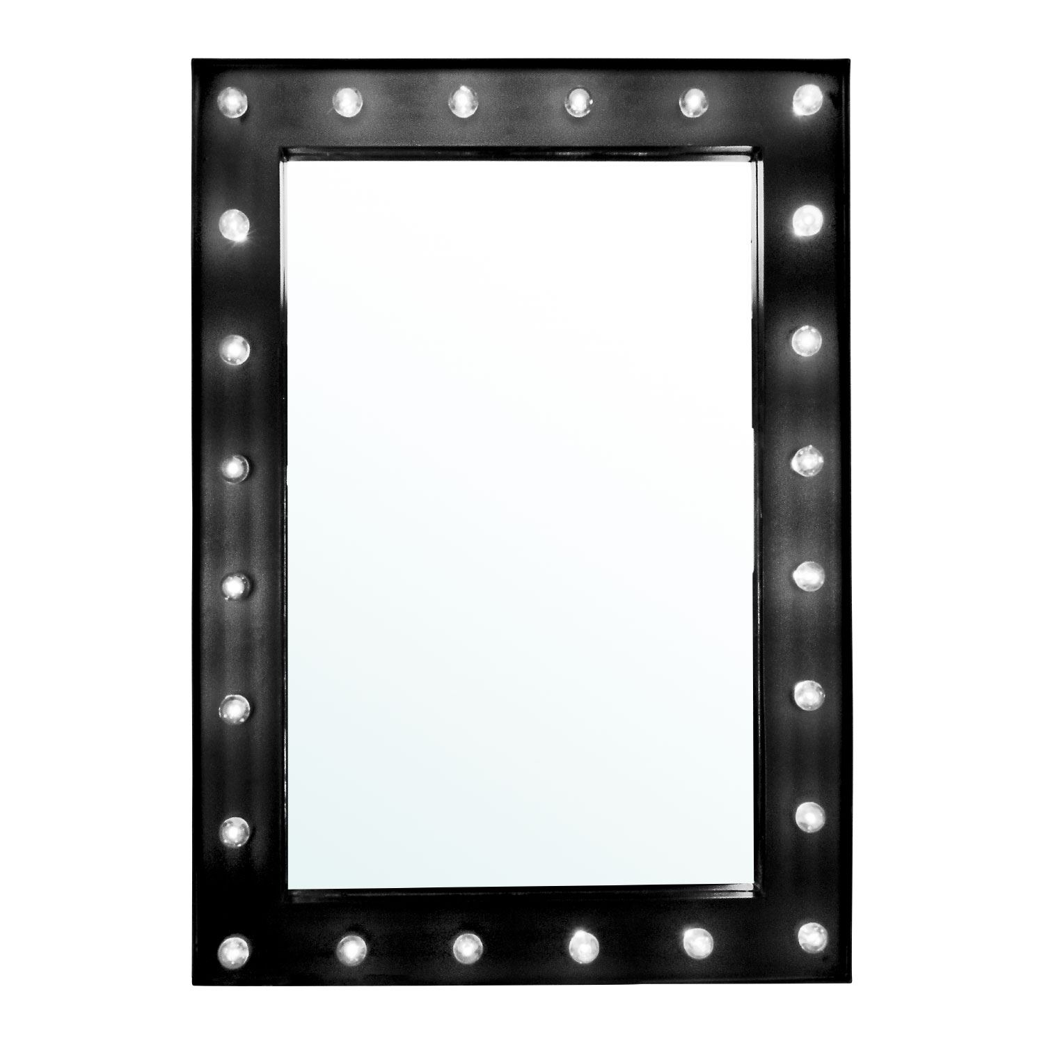 Large Vanity Mirror With Light Hollywood Makeup Mirror Wall Mounted Lighted New Ebay