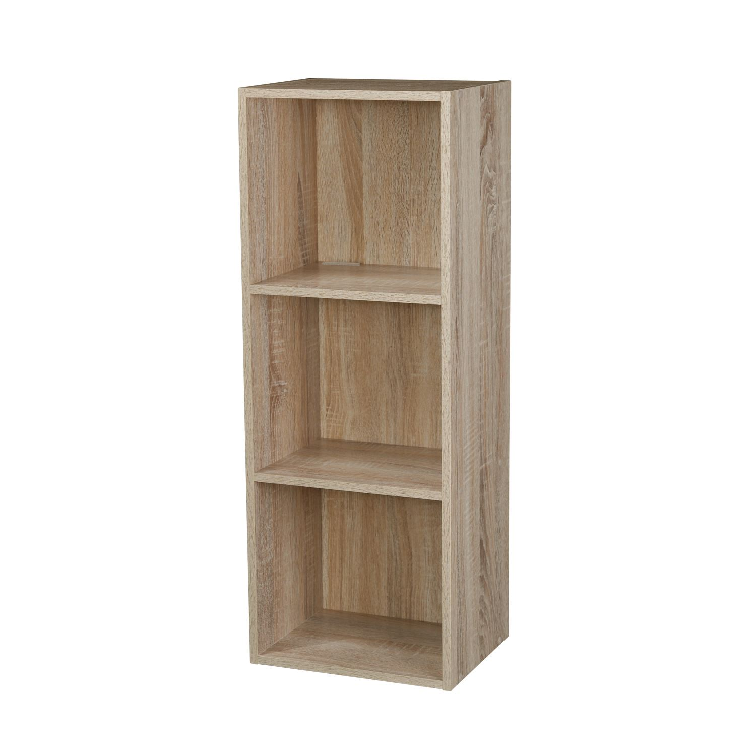 2 3 4 Tier Wooden Bookcase Shelving Display