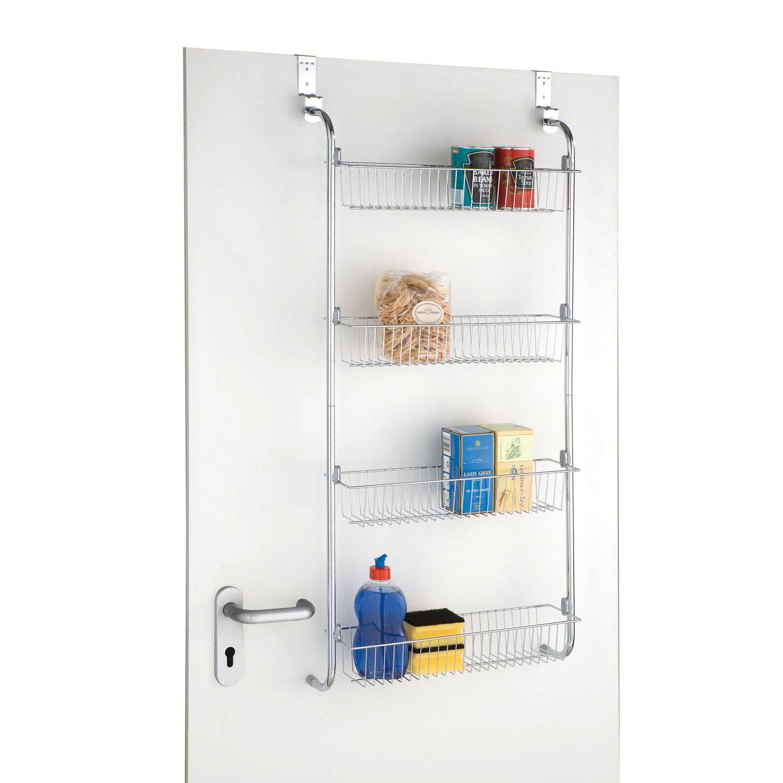 Brilliant Details About 4 Tier Over Door Hanging Food Cupboard Storage Spice Rack Kitchen Bathroom Interior Design Ideas Gresisoteloinfo