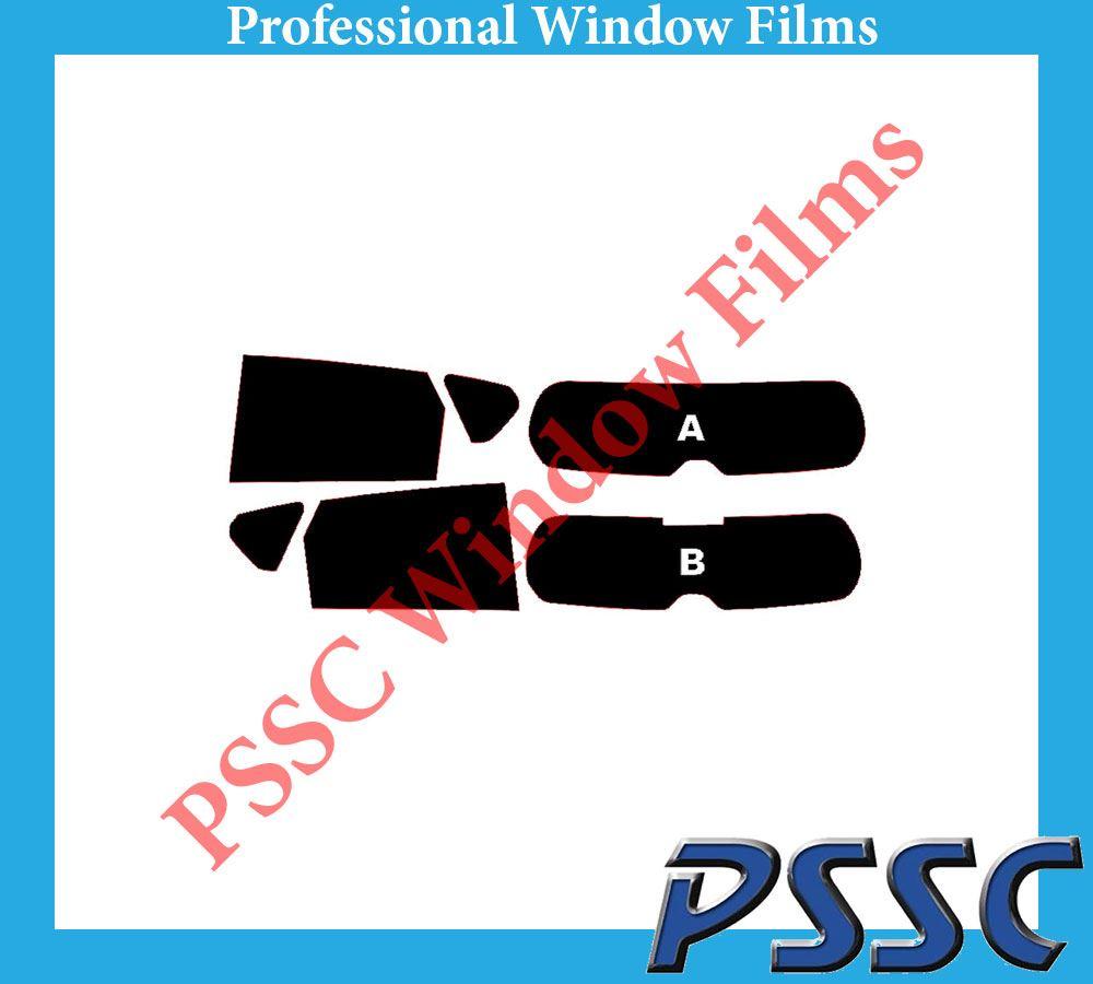PSSC pré coupé sun strip voiture fenêtre films-bmw X3 2011 à 2016