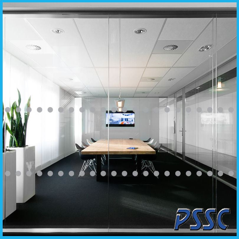 Frosted Manifestation Circles Glass Safety Window Film