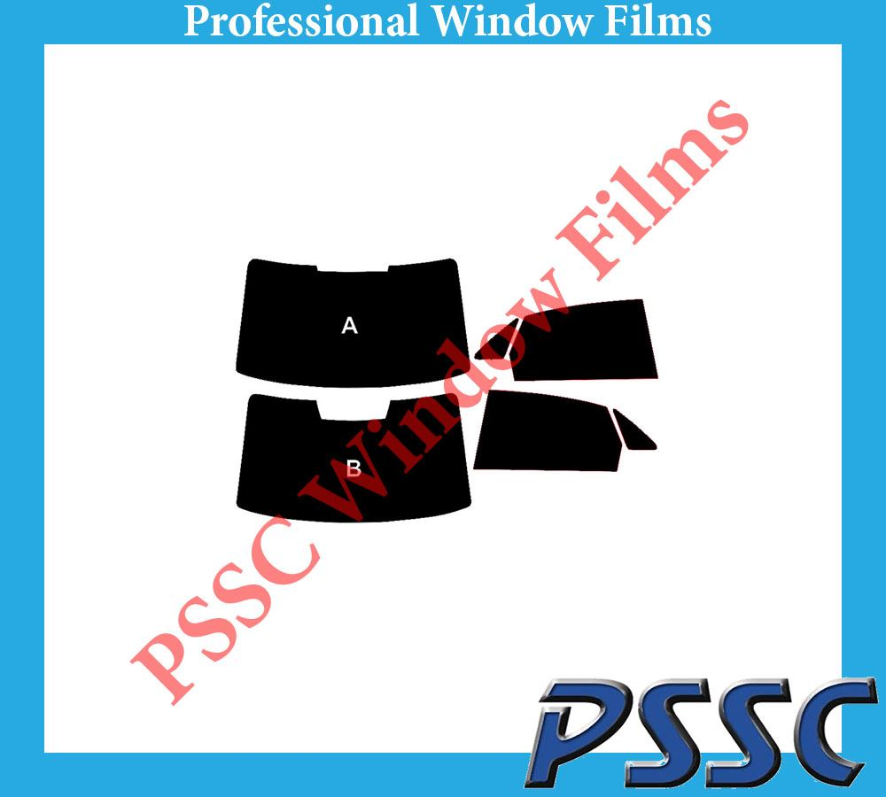 PSSC Pre Cut Front Car Window Films Audi A5 Coupe 2007 to 2016 50/% Light smoke Tint