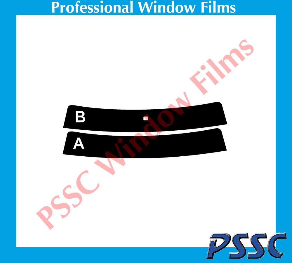 Vauxhall Zafira 2011-Current 20/% Dark Tint PSSC Pre Cut Rear Car Window Films