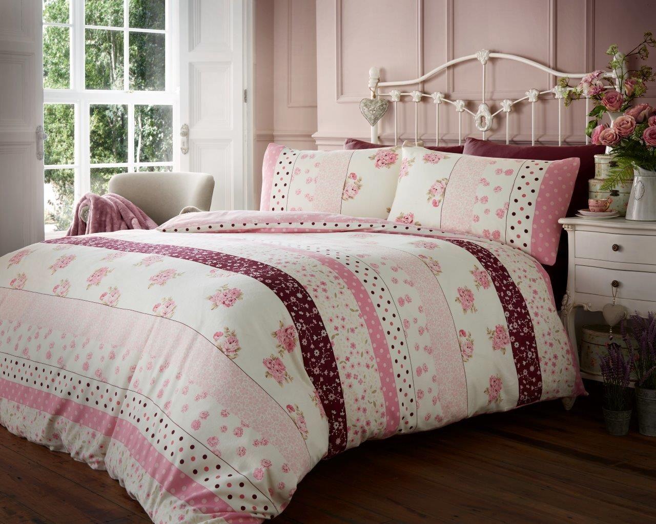 Flannelette luxury 100 brushed cotton duvet cover - Housse de couette tartan ...