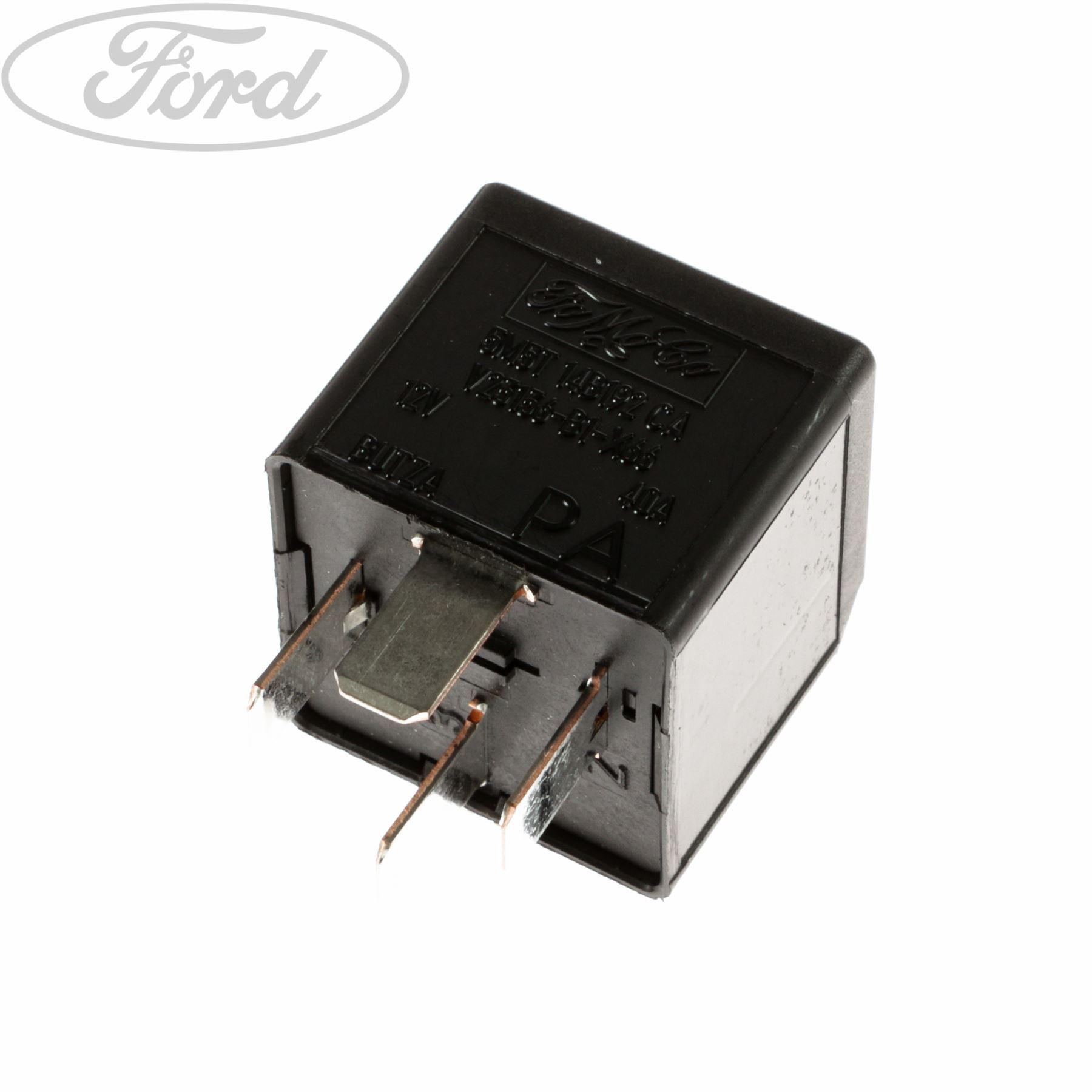 Genuine Ford Electrical System Micro Relay 40 Amp 4 Blade Terminal For Dummies 1425752