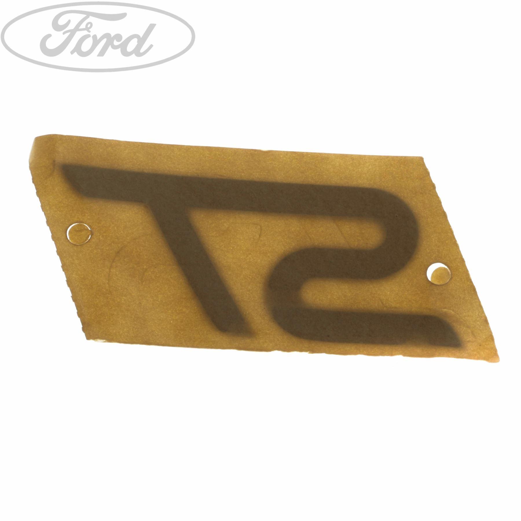 Genuine Ford Focus MK3 Fiesta VI ST Front Grille Name Plate Badge Emblem  1748488