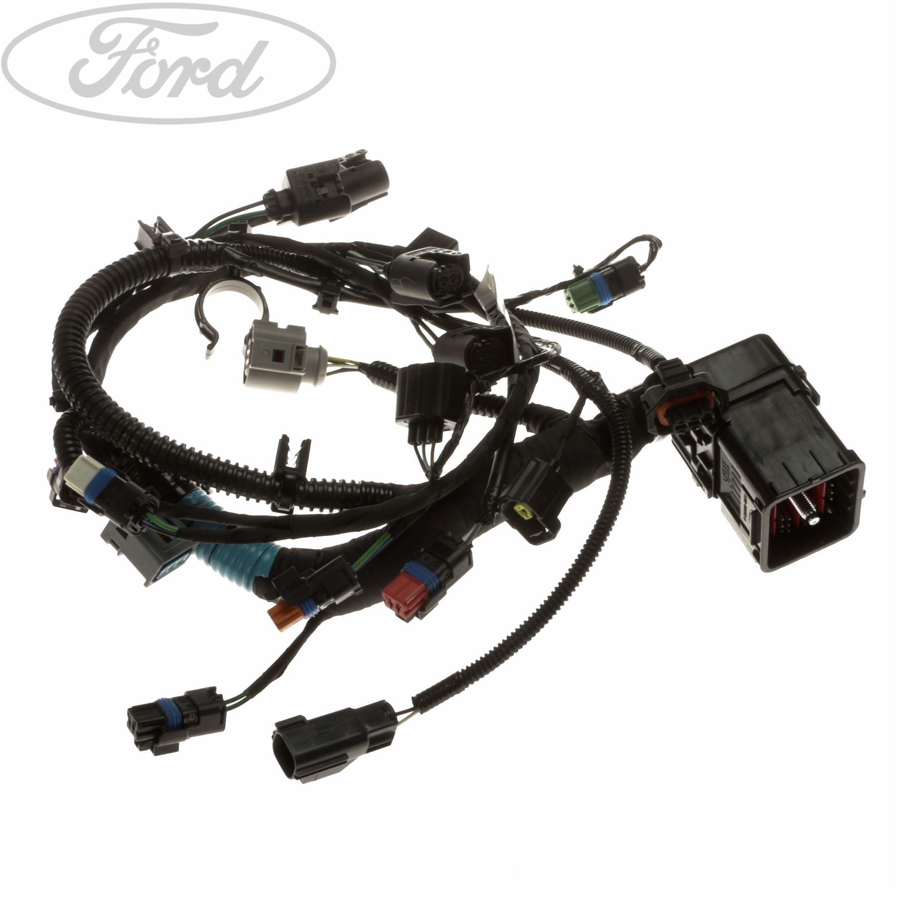 Genuine Ford Transit Connect Tdci Engine Wiring Loom 5236399 Ebay