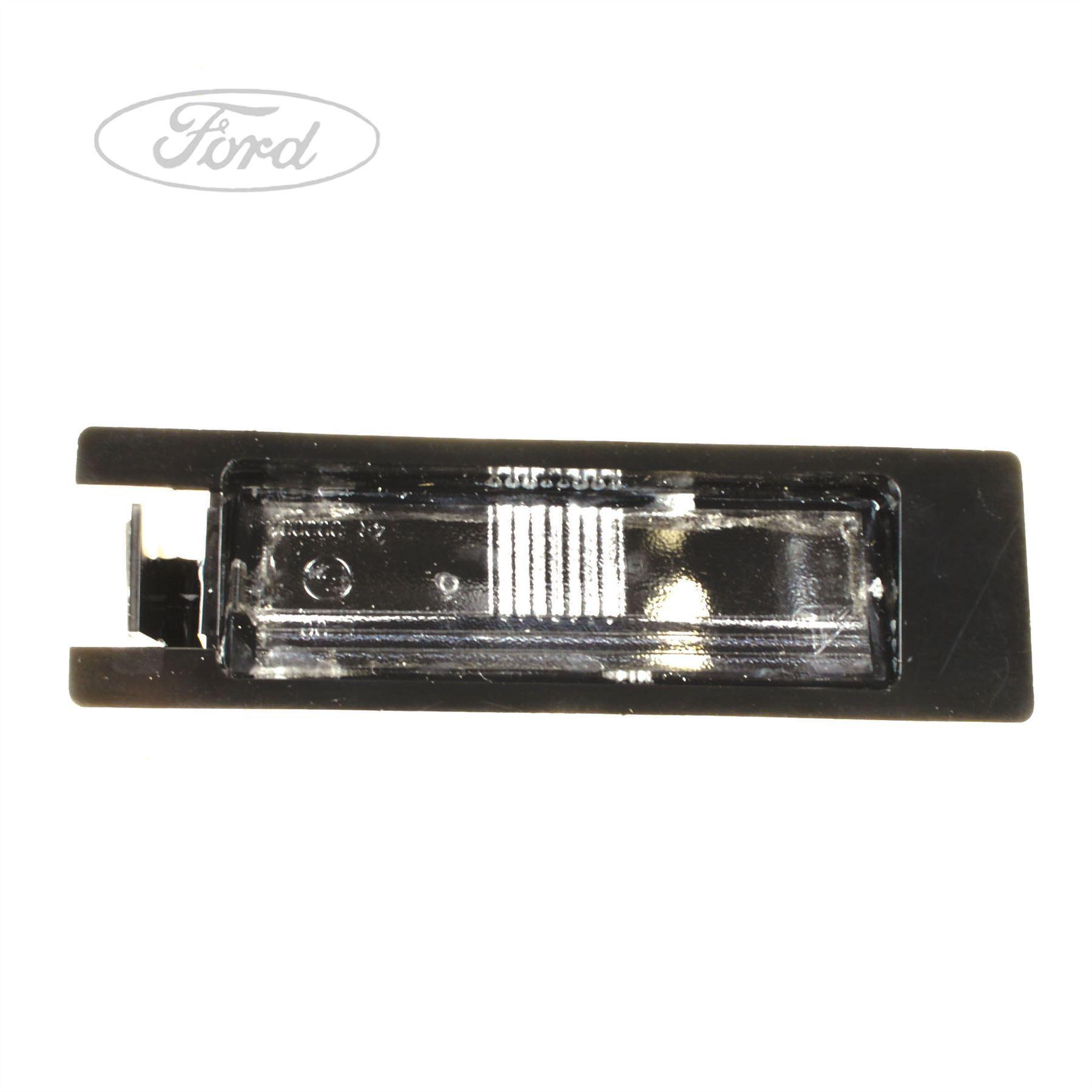 Details About Genuine Ford Ka Number Plate Light Lamp