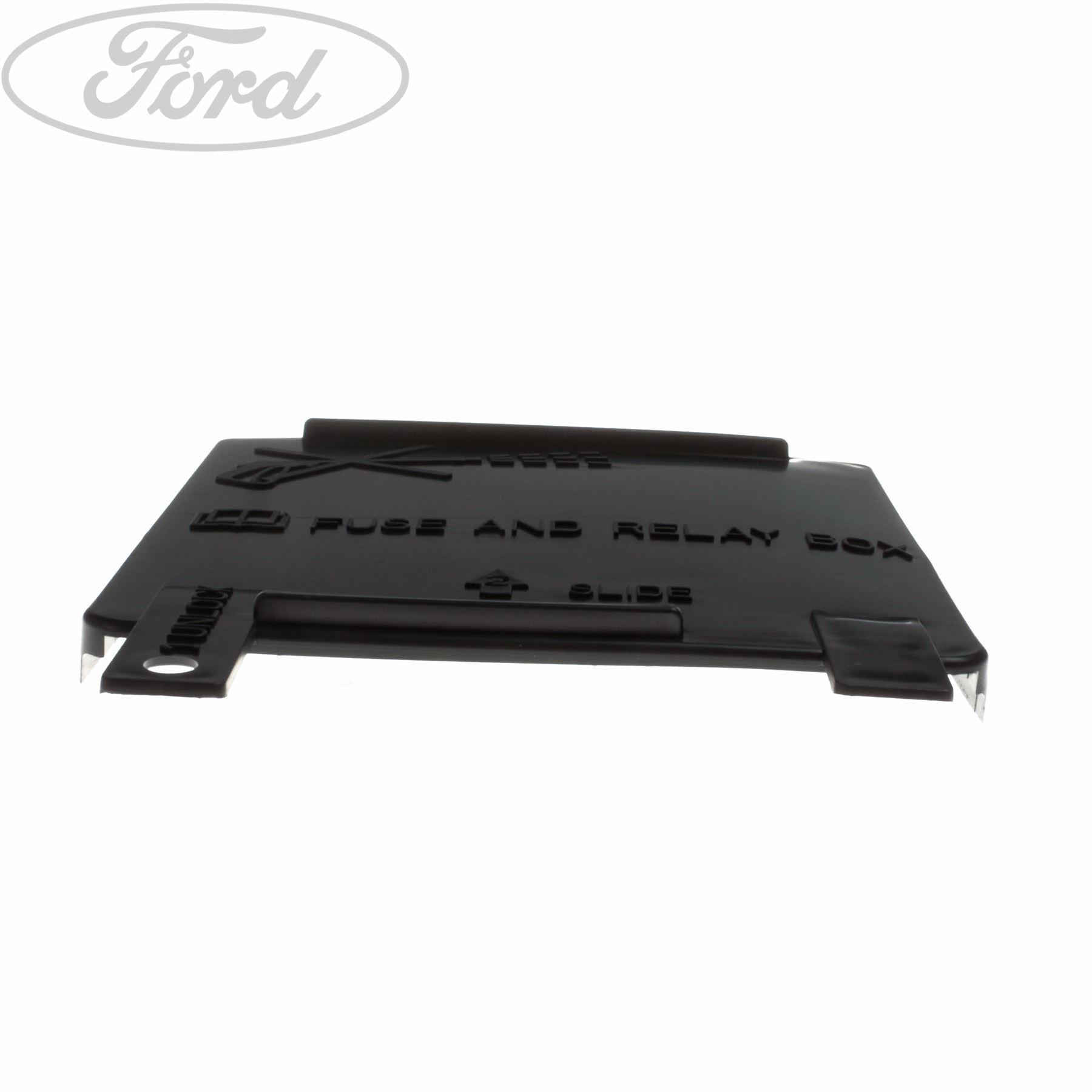 Genuine Ford KA Additional Fuse Box Cover 1633886