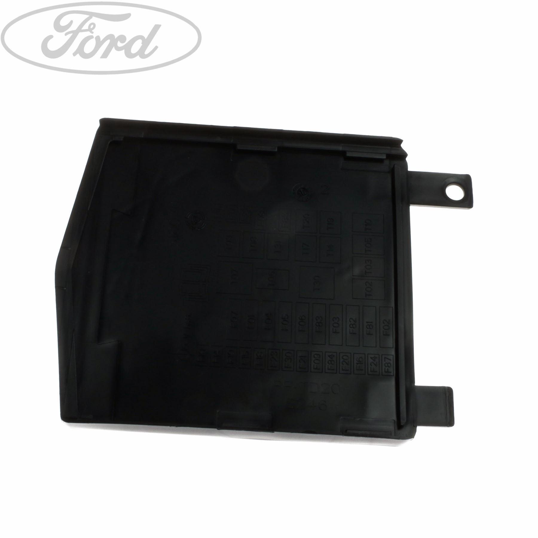 Genuine Ford Ka Additional Fuse Box Cover 1633886 Ebay Location