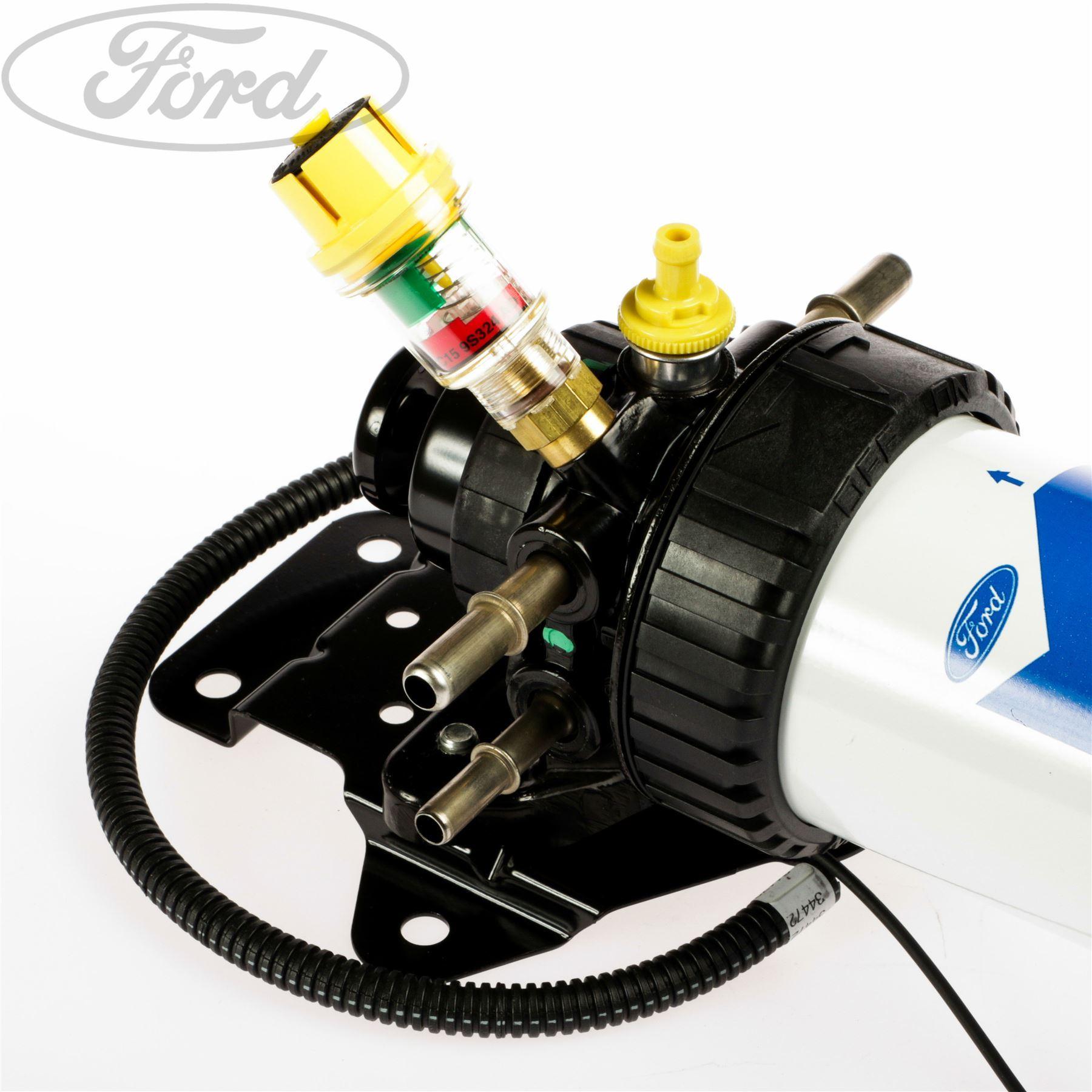 Genuine Ford Transit Mk6 20 24 Tdci Diesel Fuel Filter Inc Hand F250 Location Pump 1725625