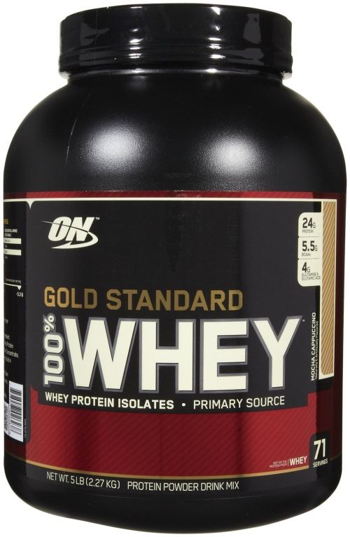 OPTIMUM NUTRITION ON GOLD STANDARD 100% WHEY HIGH PROTEIN
