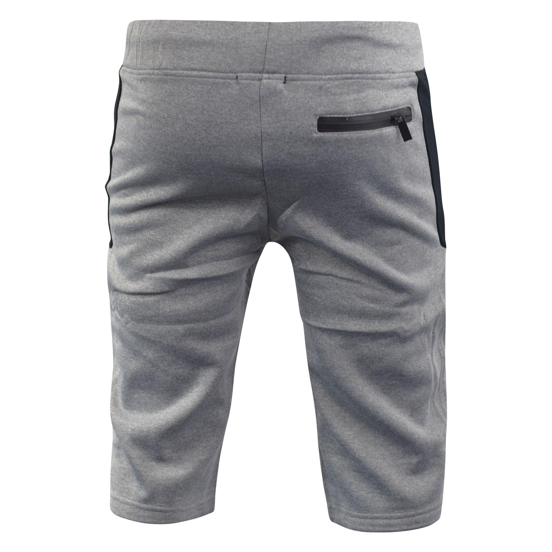 Mens-Jogger-3-4-Shorts-D-Rock-Half-Pants-Sport-Trousers-Casual-Bottom thumbnail 6