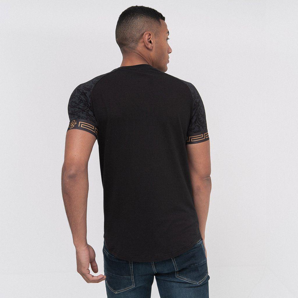 Para-Hombre-Crosshatch-T-Shirt-Tee-Top-de-cuello-redondo-cheshamer miniatura 3