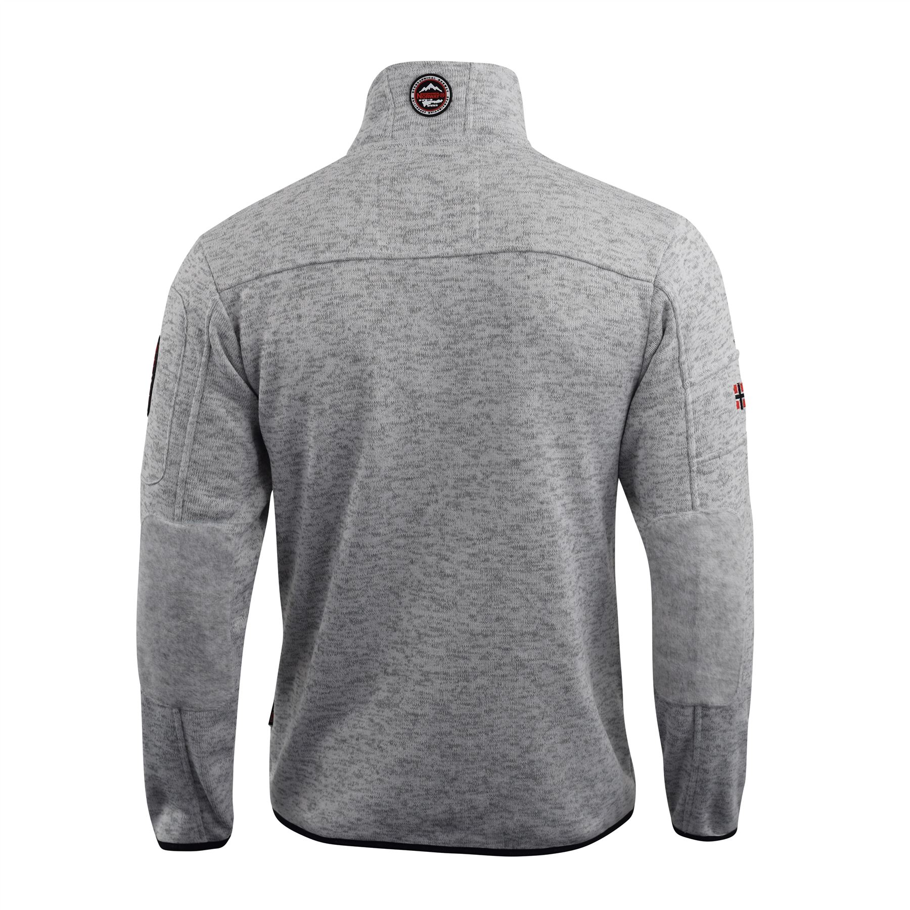 Mens Fleece Jacket Geographical Norway Cozy Lined Outdoor