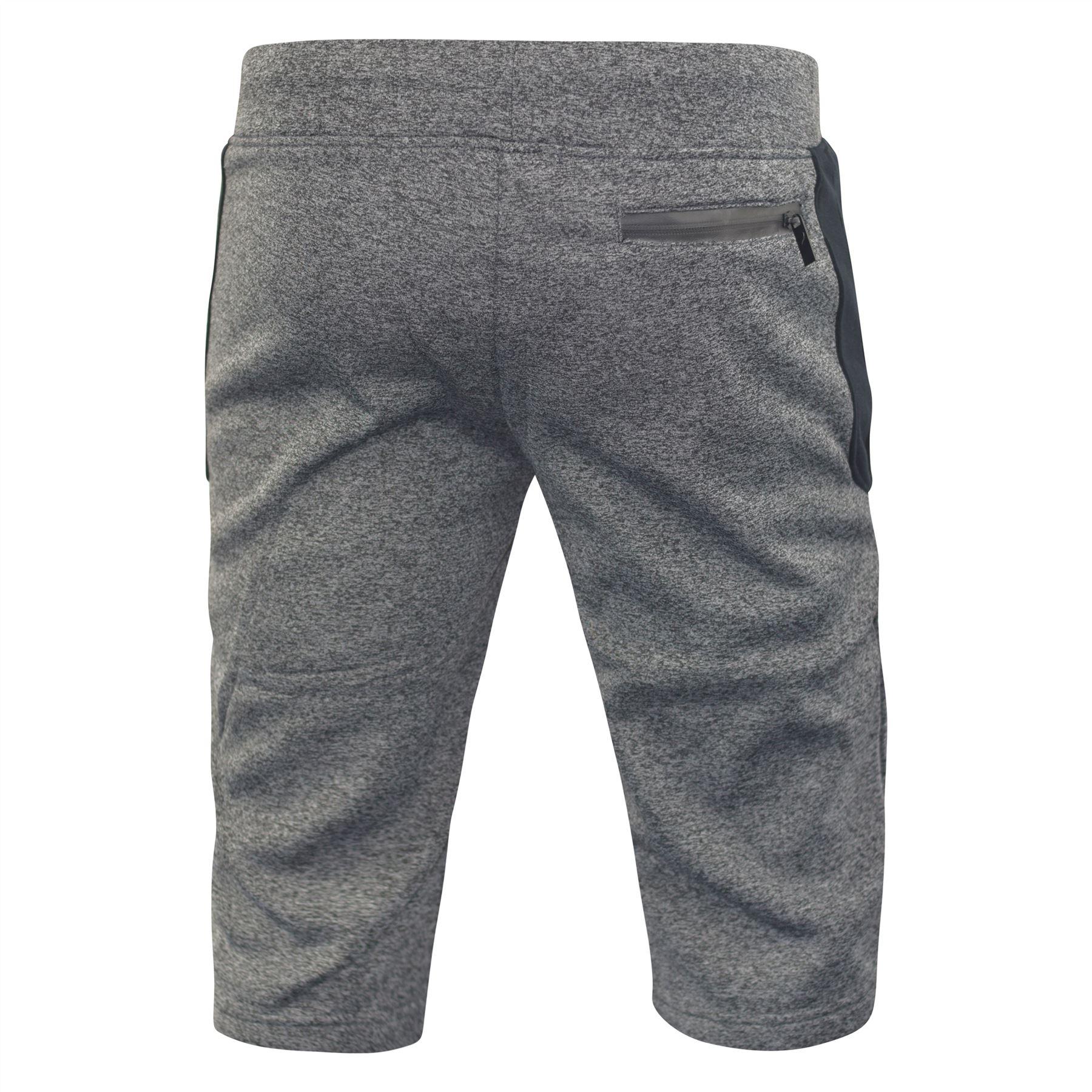 Mens-Jogger-3-4-Shorts-D-Rock-Half-Pants-Sport-Trousers-Casual-Bottom thumbnail 3
