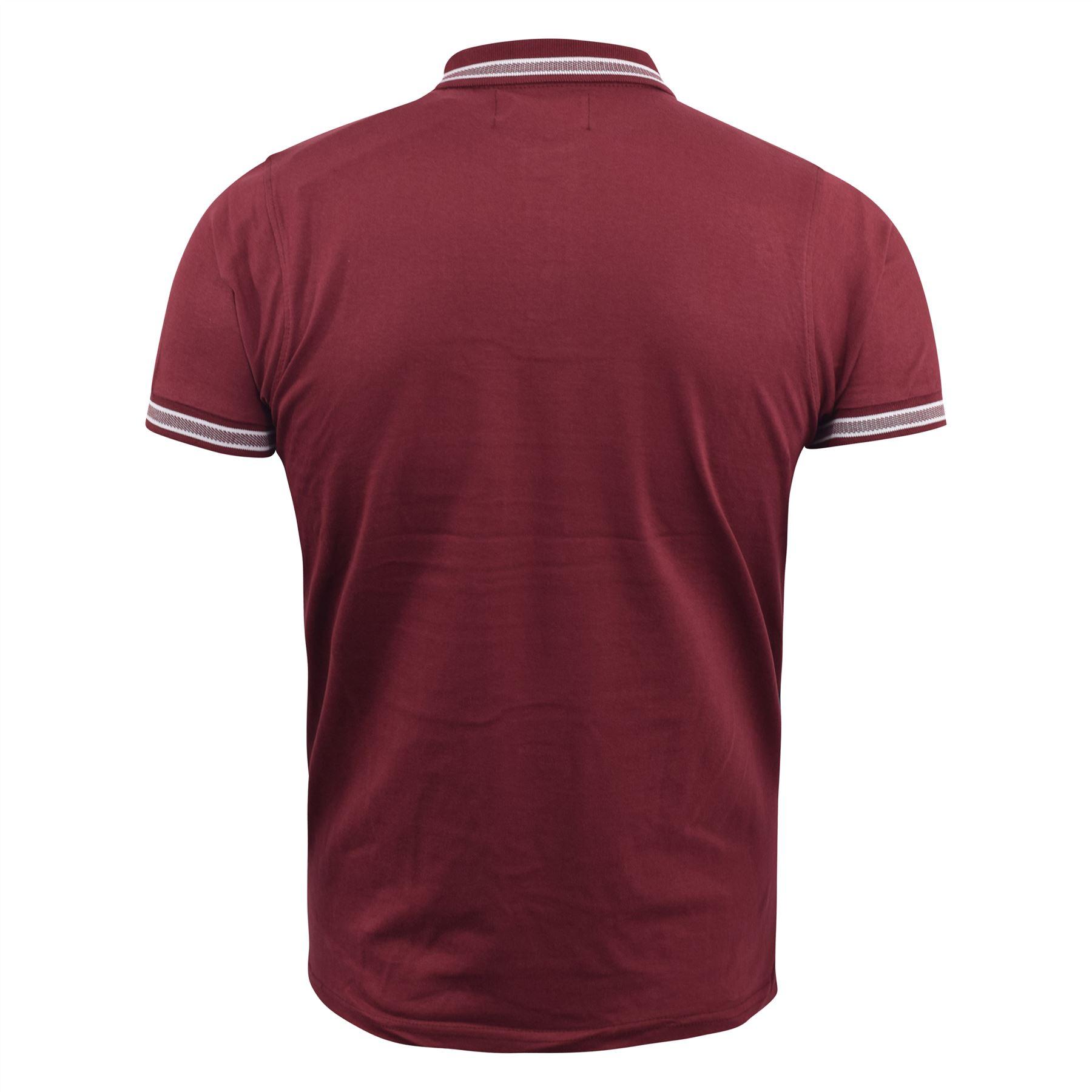 Mens-Polo-Shirt-kangol-Short-Sleeve-T-Shirt-Top-West thumbnail 5