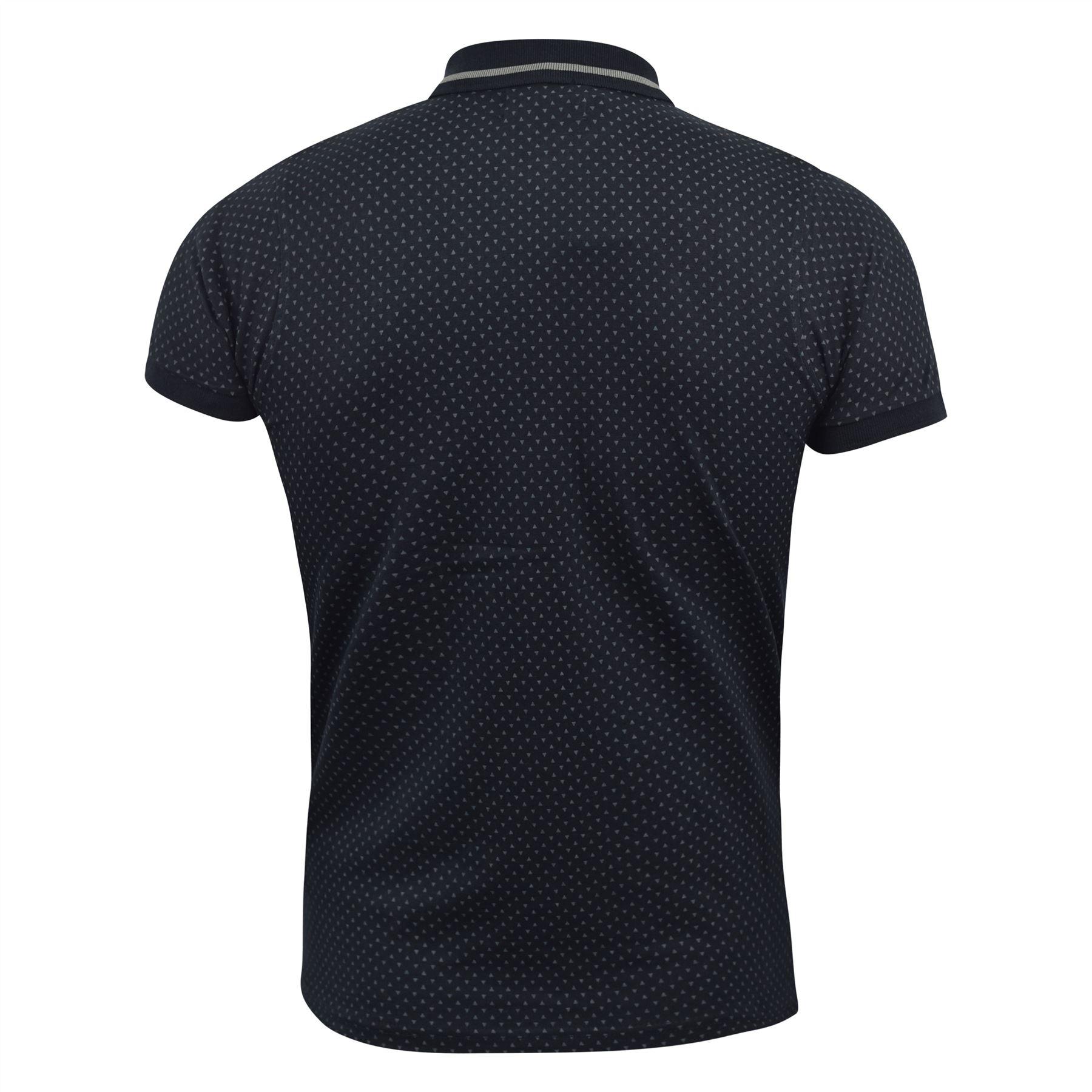 Mens-Polo-Shirt-kangol-Short-Sleeve-T-Shirt-Top-Saint thumbnail 3