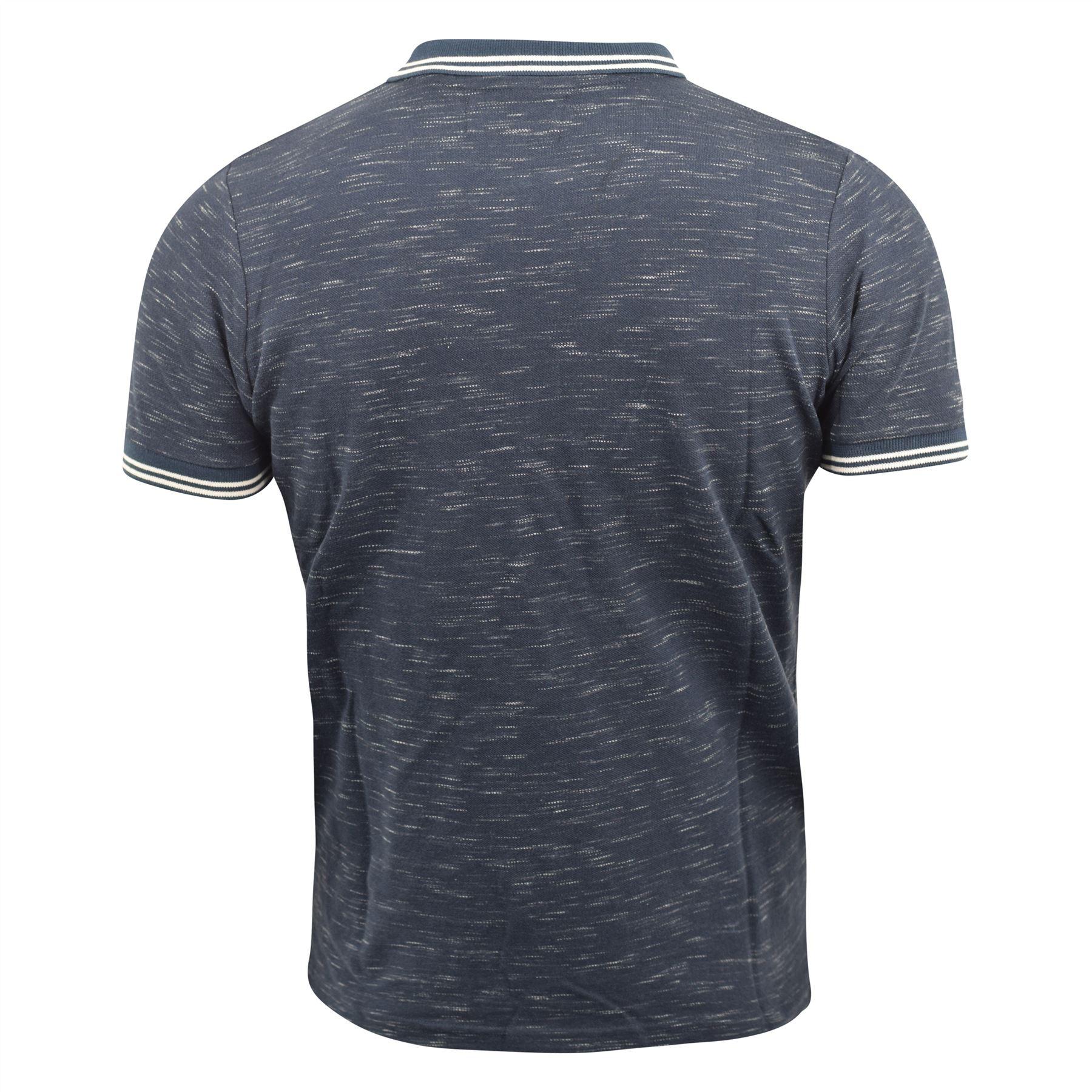 Mens-Polo-Shirt-kangol-Short-Sleeve-T-Shirt-Top-Jack thumbnail 7