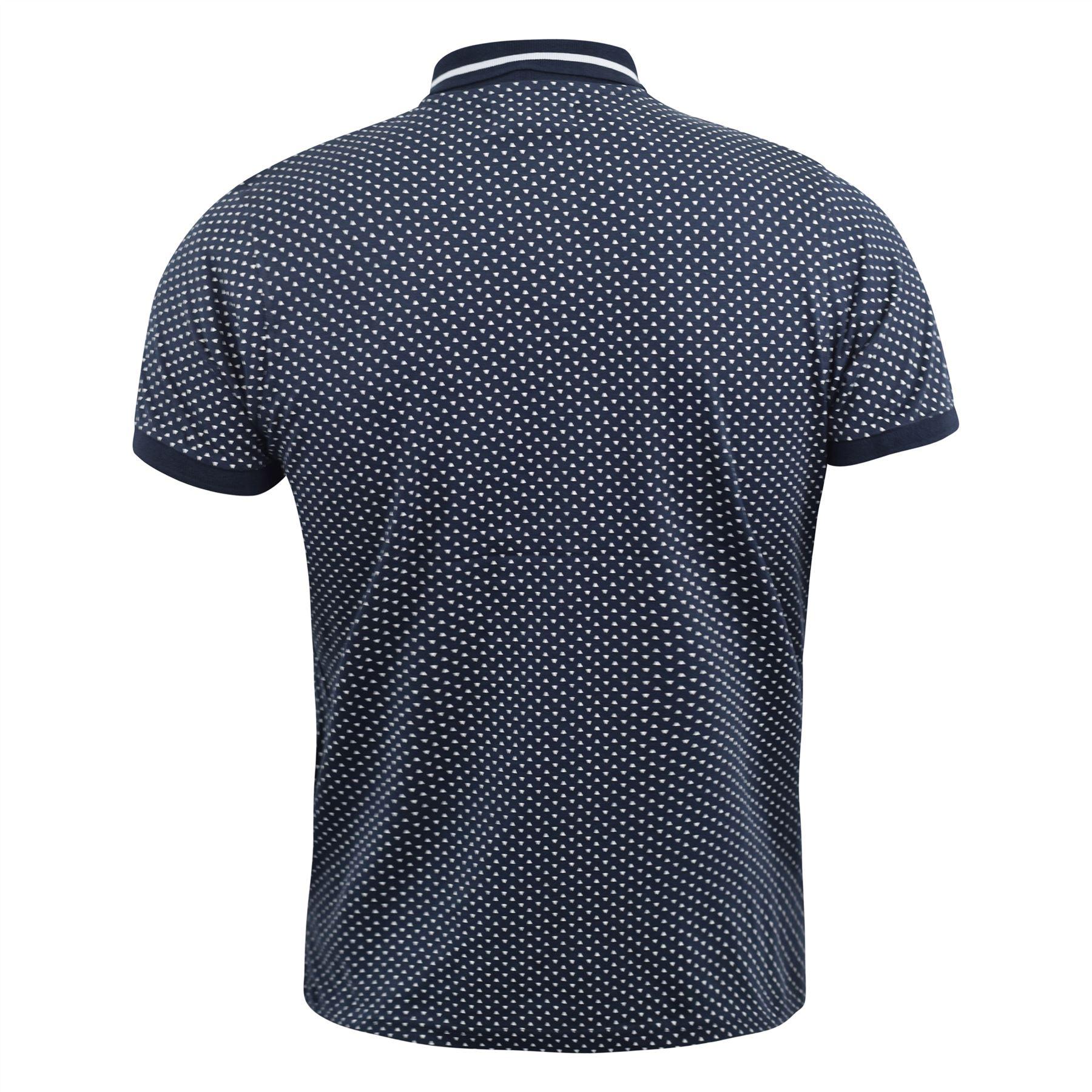 Mens-Polo-Shirt-kangol-Short-Sleeve-T-Shirt-Top-Saint thumbnail 5