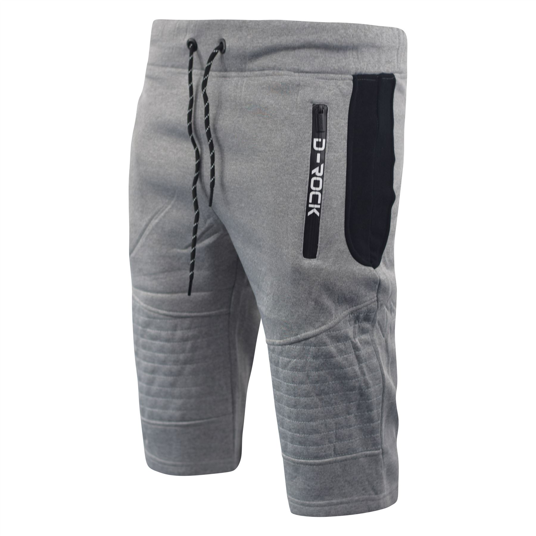 Mens-Jogger-3-4-Shorts-D-Rock-Half-Pants-Sport-Trousers-Casual-Bottom thumbnail 5