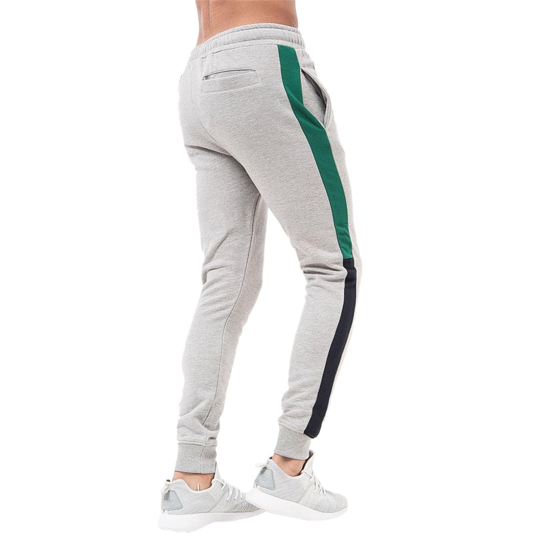 Mens-Joggers-Pants-Crosshatch-Daglum-Tracksuit-Jogging-Trousers thumbnail 3