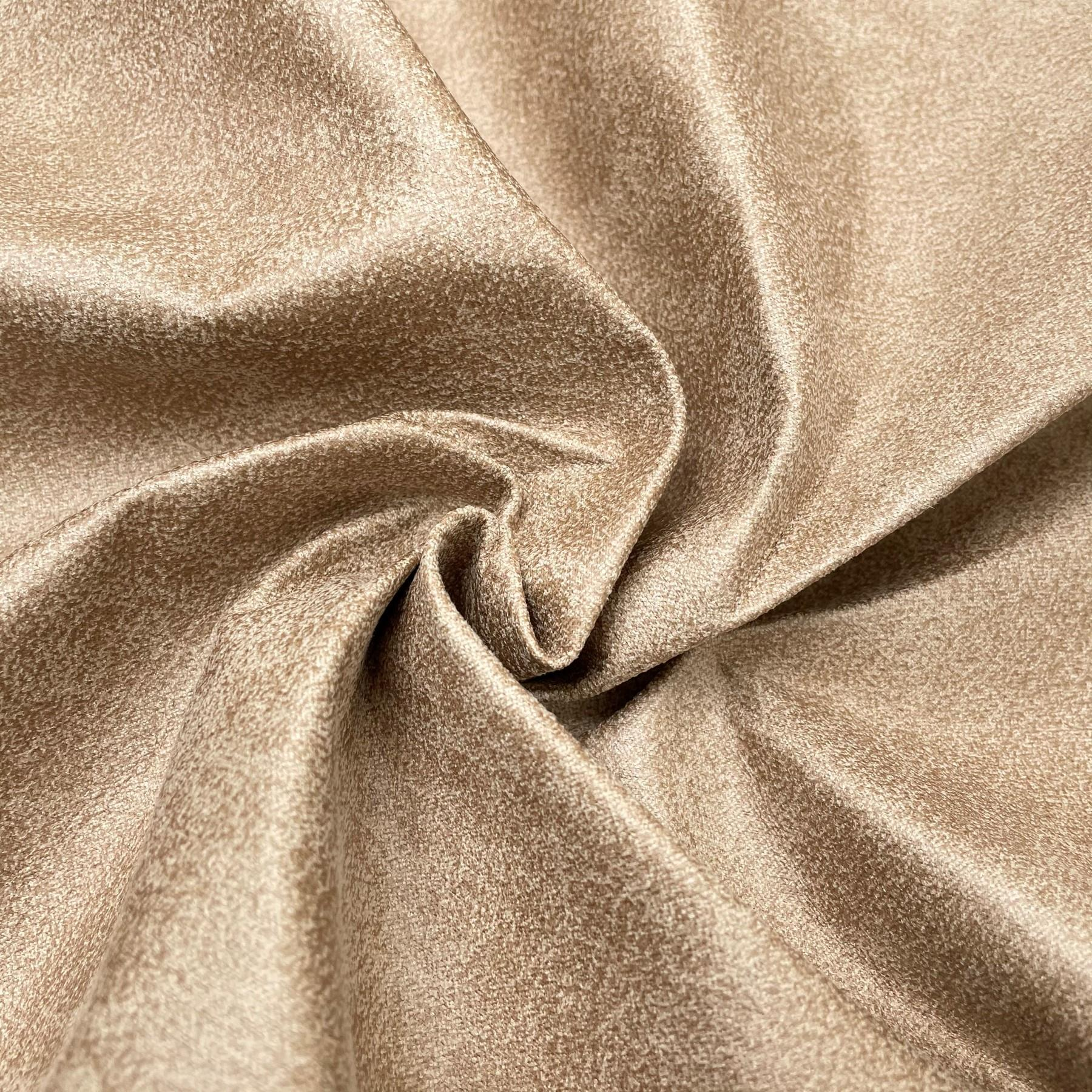 thumbnail 8 - AGED BROWN DISTRESSED ANTIQUED SUEDE FAUX LEATHER LEATHERETTE UPHOLSTERY FABRIC