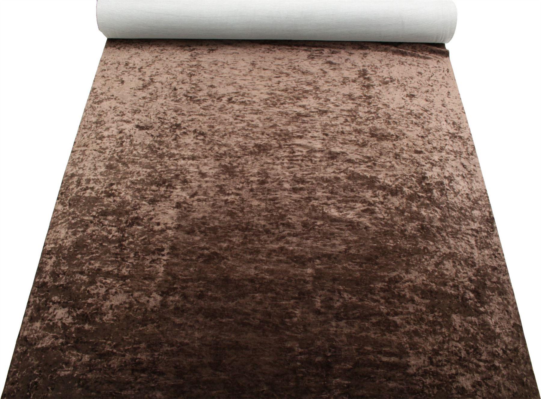 thumbnail 30 - Marble Velour Crushed Velvet Plush Soft Furnishing Curtain Cushion Fabric