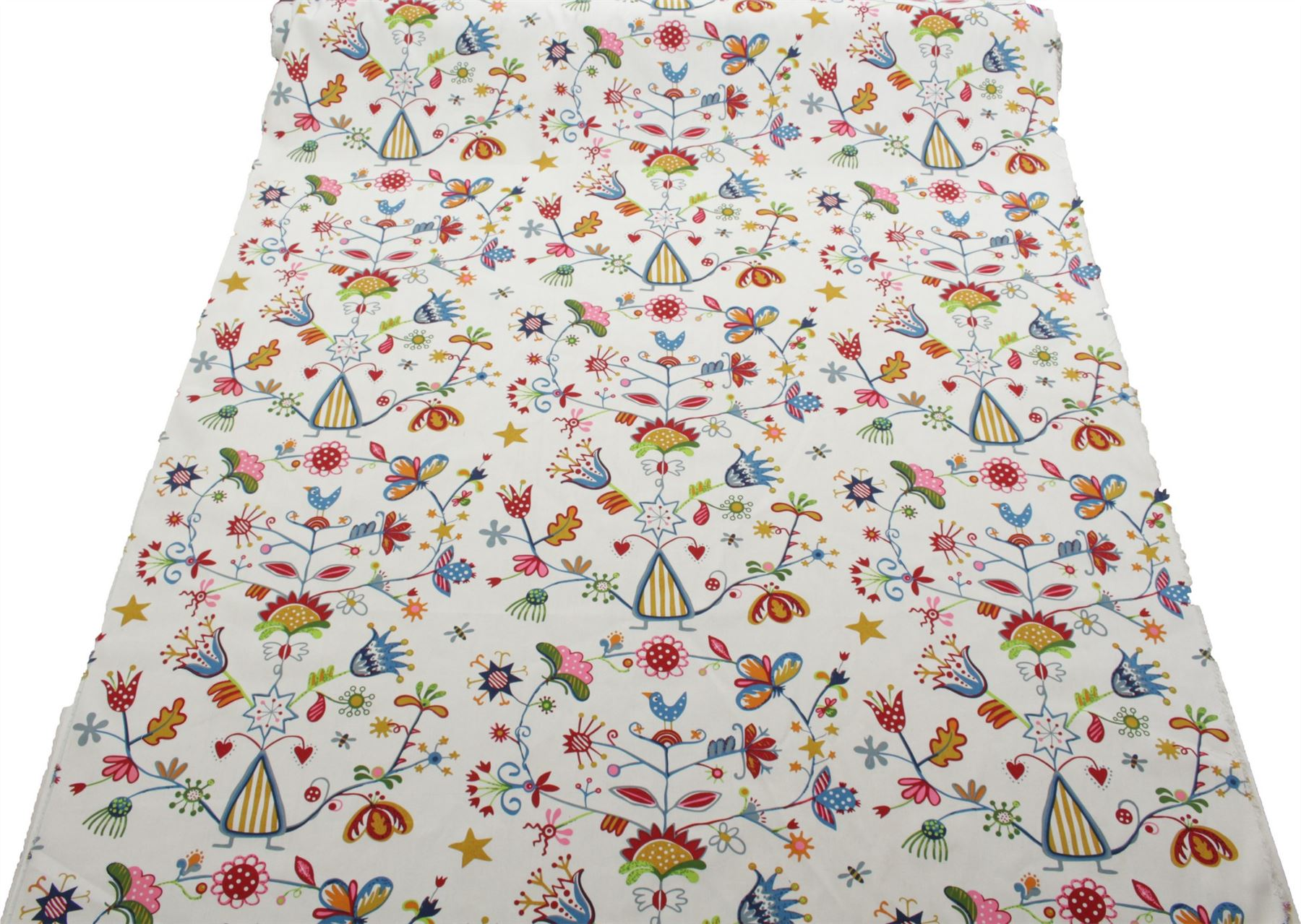 thumbnail 31 - 100% Heavy Cotton Panama Printed Childrens Curtain Cushion Upholstery Fabric