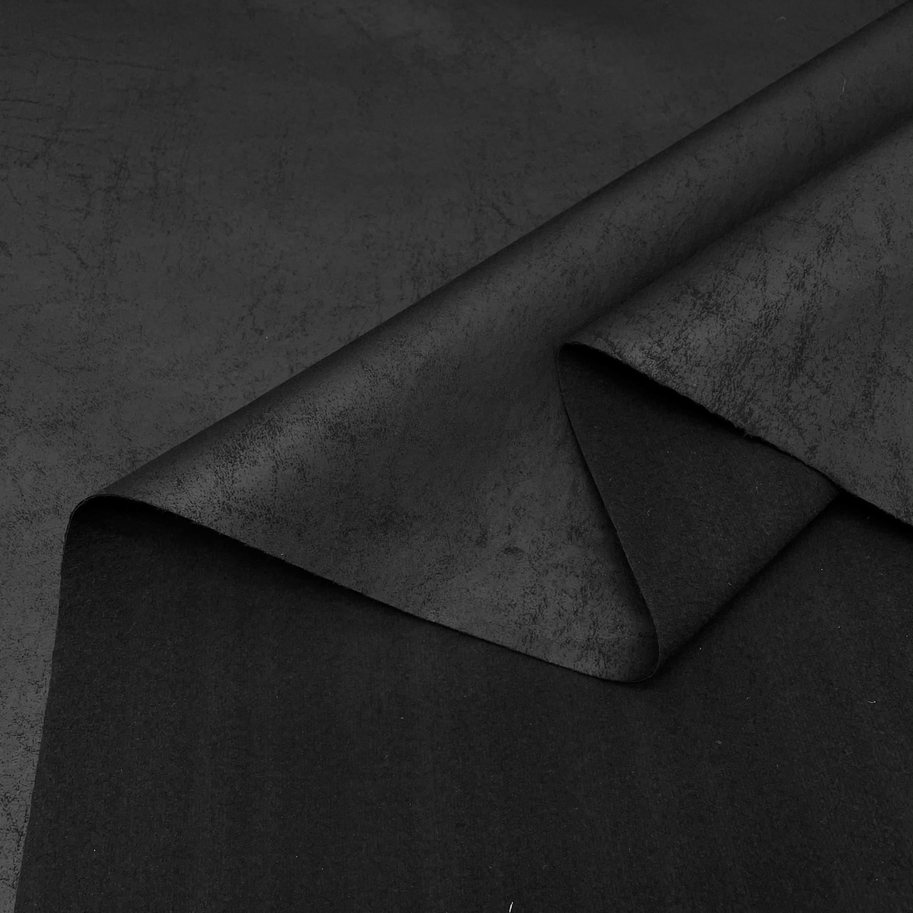 thumbnail 12 - AGED BROWN DISTRESSED ANTIQUED SUEDE FAUX LEATHER LEATHERETTE UPHOLSTERY FABRIC