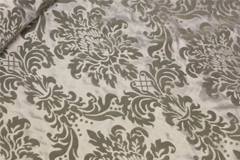 victoria floral taffeta damask velvet flock upholstery curtain fabric material ebay. Black Bedroom Furniture Sets. Home Design Ideas
