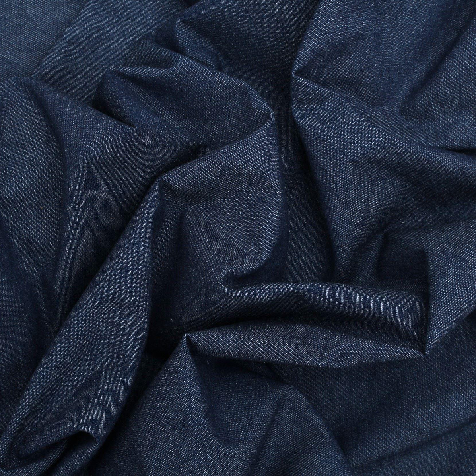 thumbnail 8 - 100% COTTON HEAVYWEIGHT WASHED DENIM CRAFT CLOTHING DRESS SEWING FABRIC