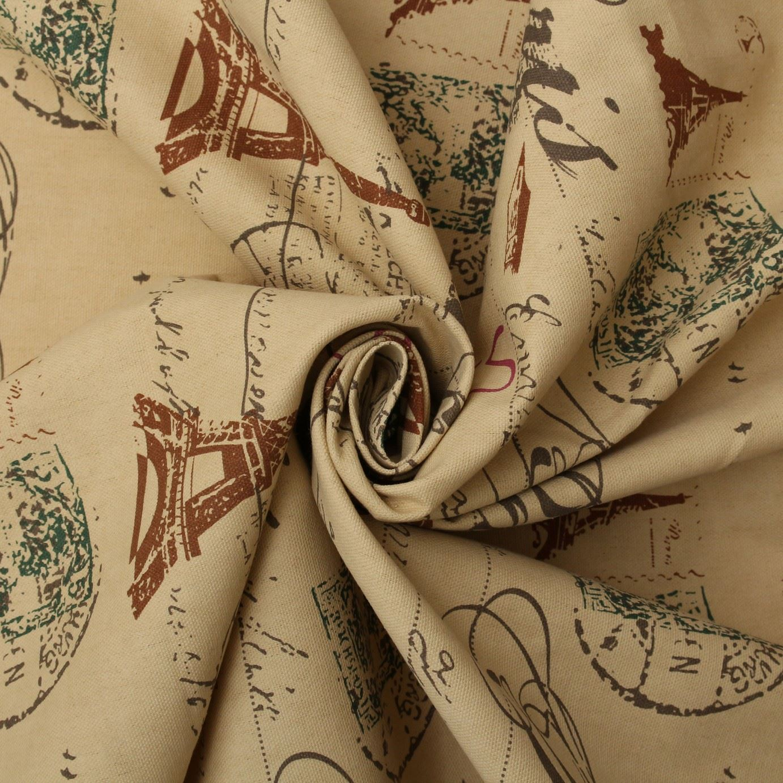 thumbnail 72 - 100% Heavy Cotton Panama Printed Childrens Curtain Cushion Upholstery Fabric