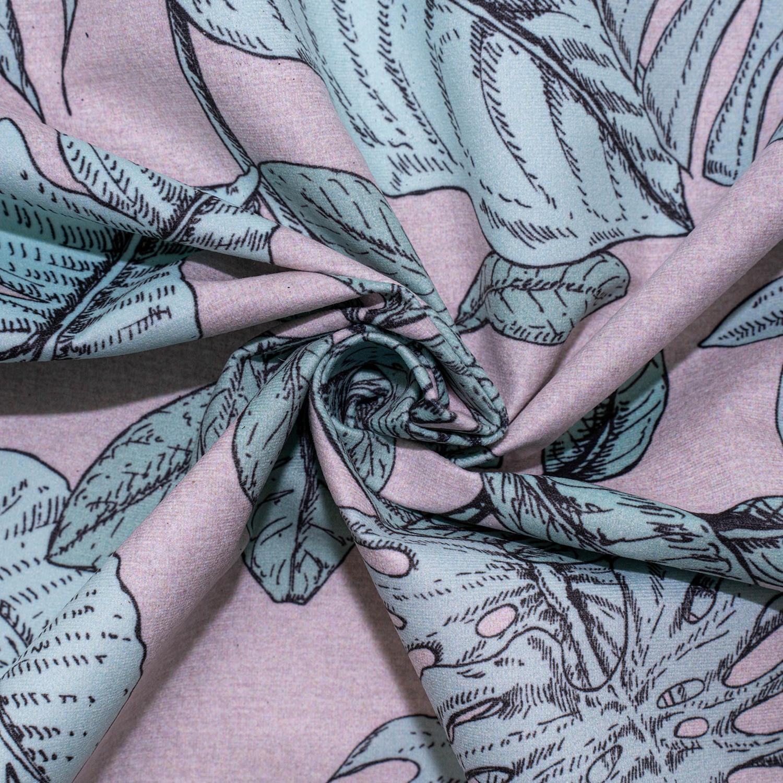 miniatura 9 - Myanmor Tropicale esotico foglie in Grassetto Stampa Floreale Velour Velluto Tappezzeria Stoffa