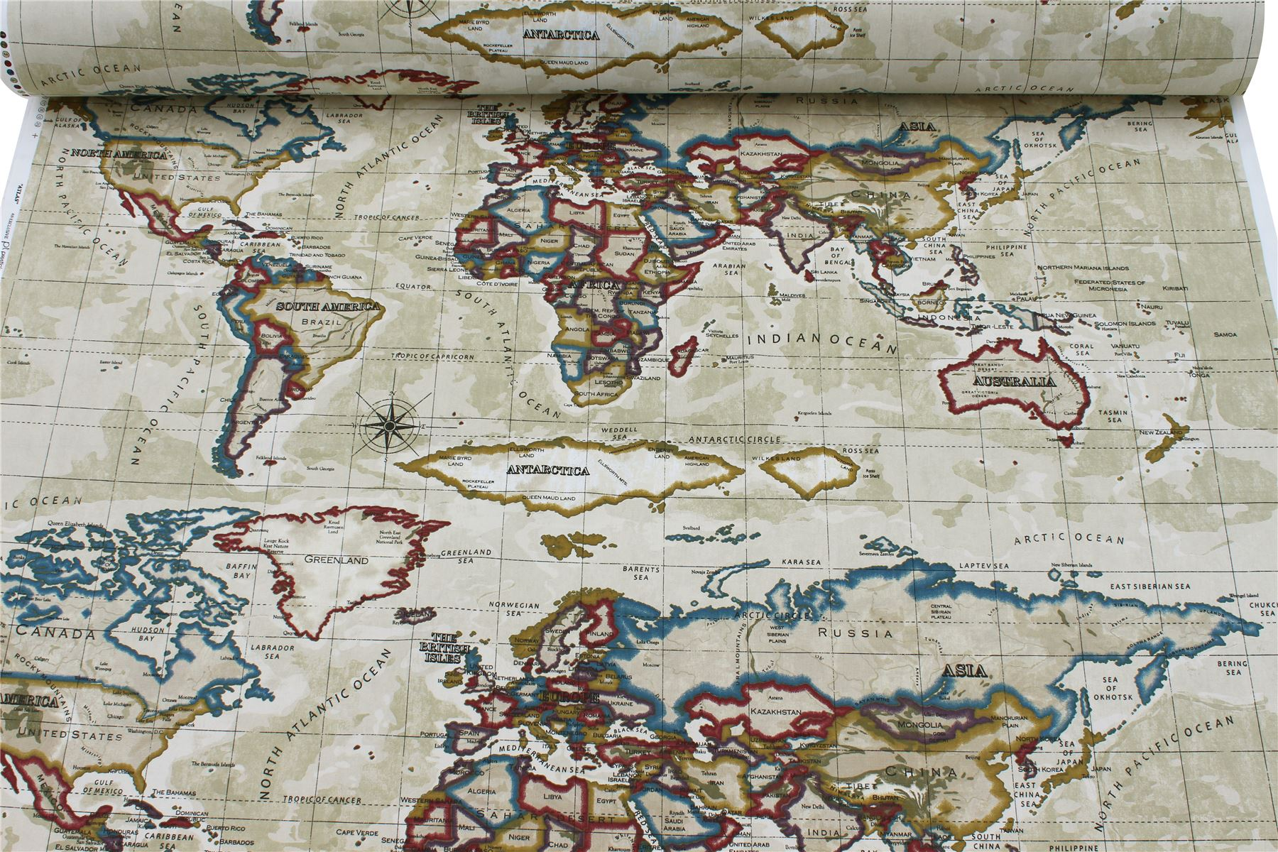 Prestigious world atlas map azure designer curtain cushion prestigious world atlas map azure designer curtain cushion gumiabroncs Choice Image