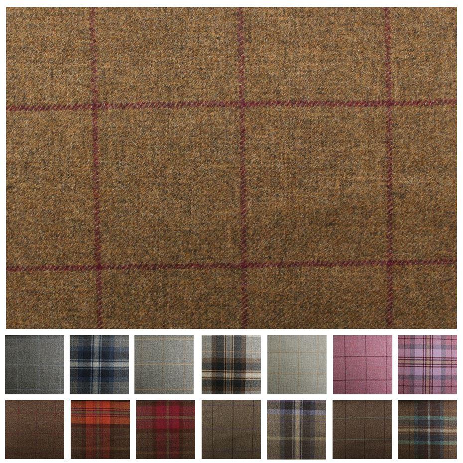100-British-Shetland-Wool-Fabric-Marchrie-Window-Pane & 100% British Shetland Wool Fabric - Marchrie Window Pane | eBay