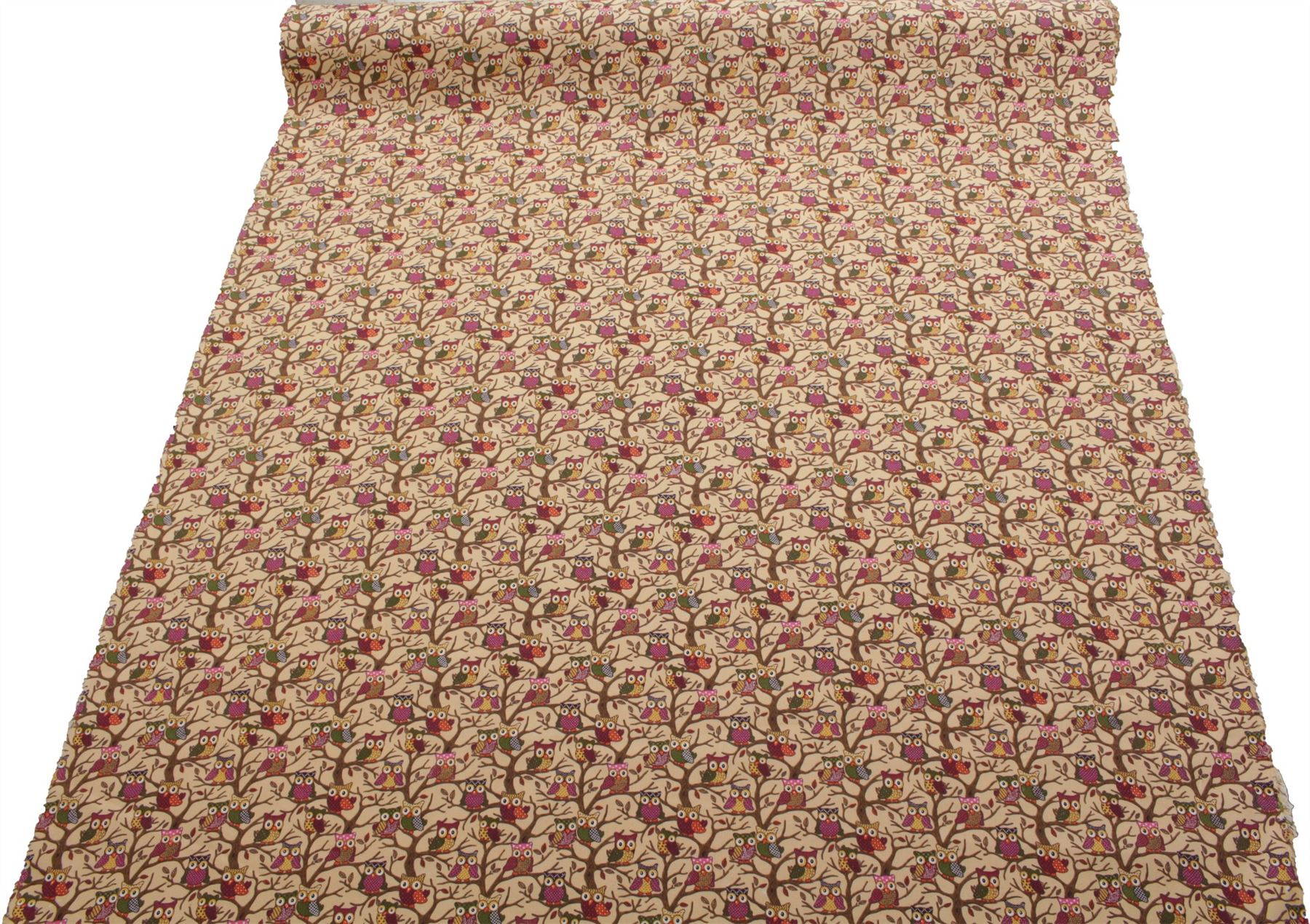 thumbnail 58 - 100% Heavy Cotton Panama Printed Childrens Curtain Cushion Upholstery Fabric