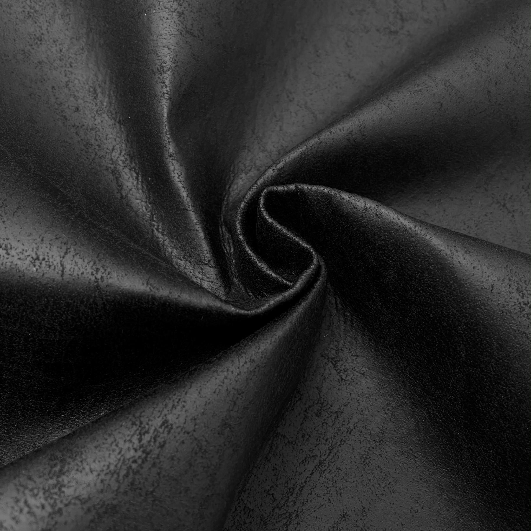 thumbnail 15 - AGED BROWN DISTRESSED ANTIQUED SUEDE FAUX LEATHER LEATHERETTE UPHOLSTERY FABRIC