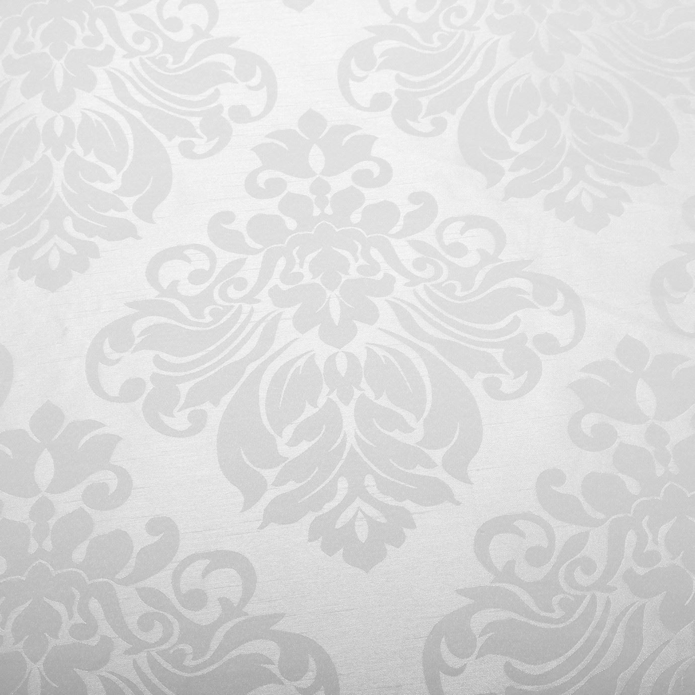 FLORAL-DAMASK-FAUX-SILK-JACQUARD-CURTAIN-UPHOLSTERY-FABRIC-MATERIAL-12-COLOURS thumbnail 39