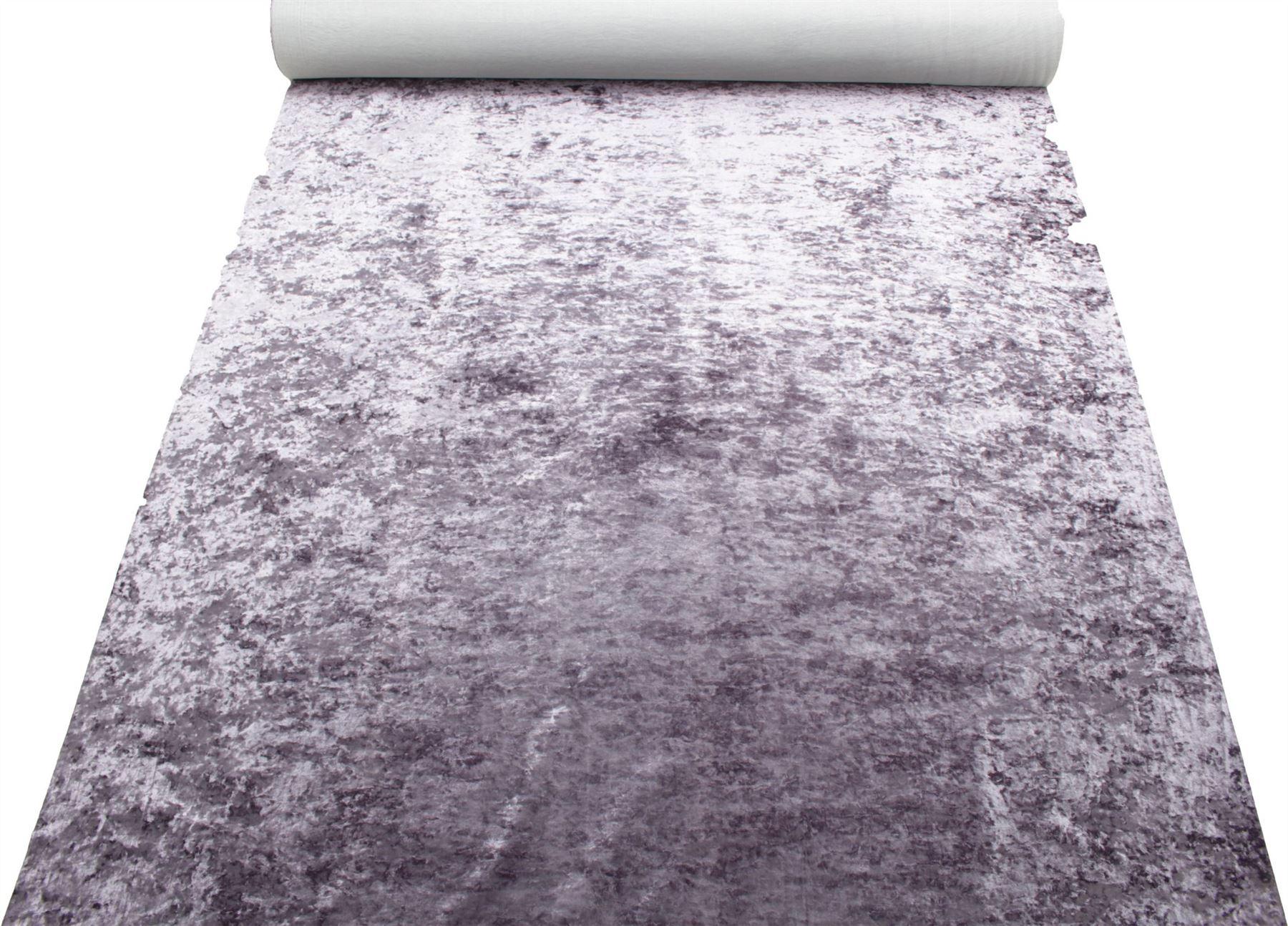 thumbnail 21 - Marble Velour Crushed Velvet Plush Soft Furnishing Curtain Cushion Fabric