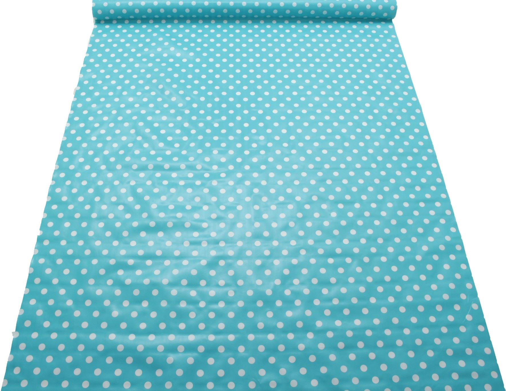 Floral Gingham Polka Dot Print Pvc Coated Covering
