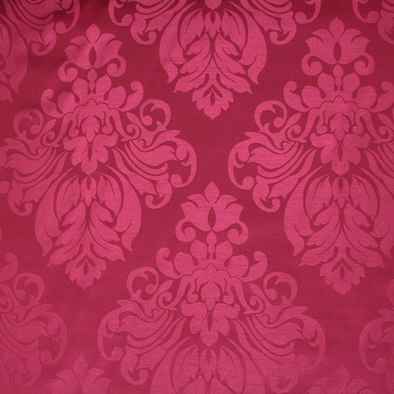 Floral damask faux silk jacquard curtain upholstery fabric for Floral upholstery fabric