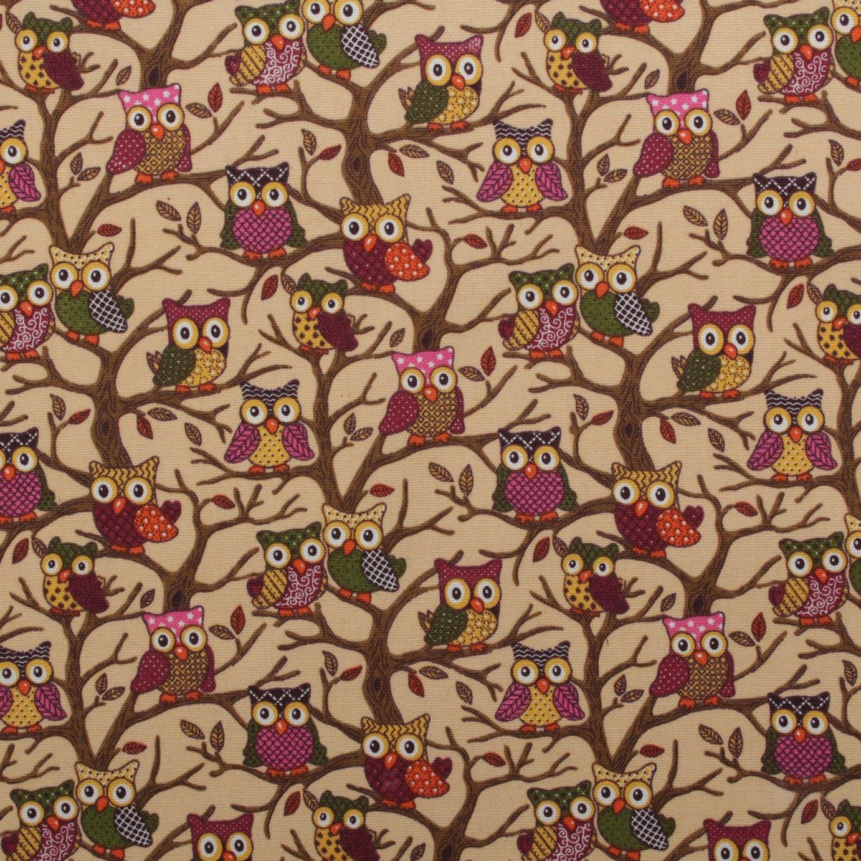 thumbnail 56 - 100% Heavy Cotton Panama Printed Childrens Curtain Cushion Upholstery Fabric