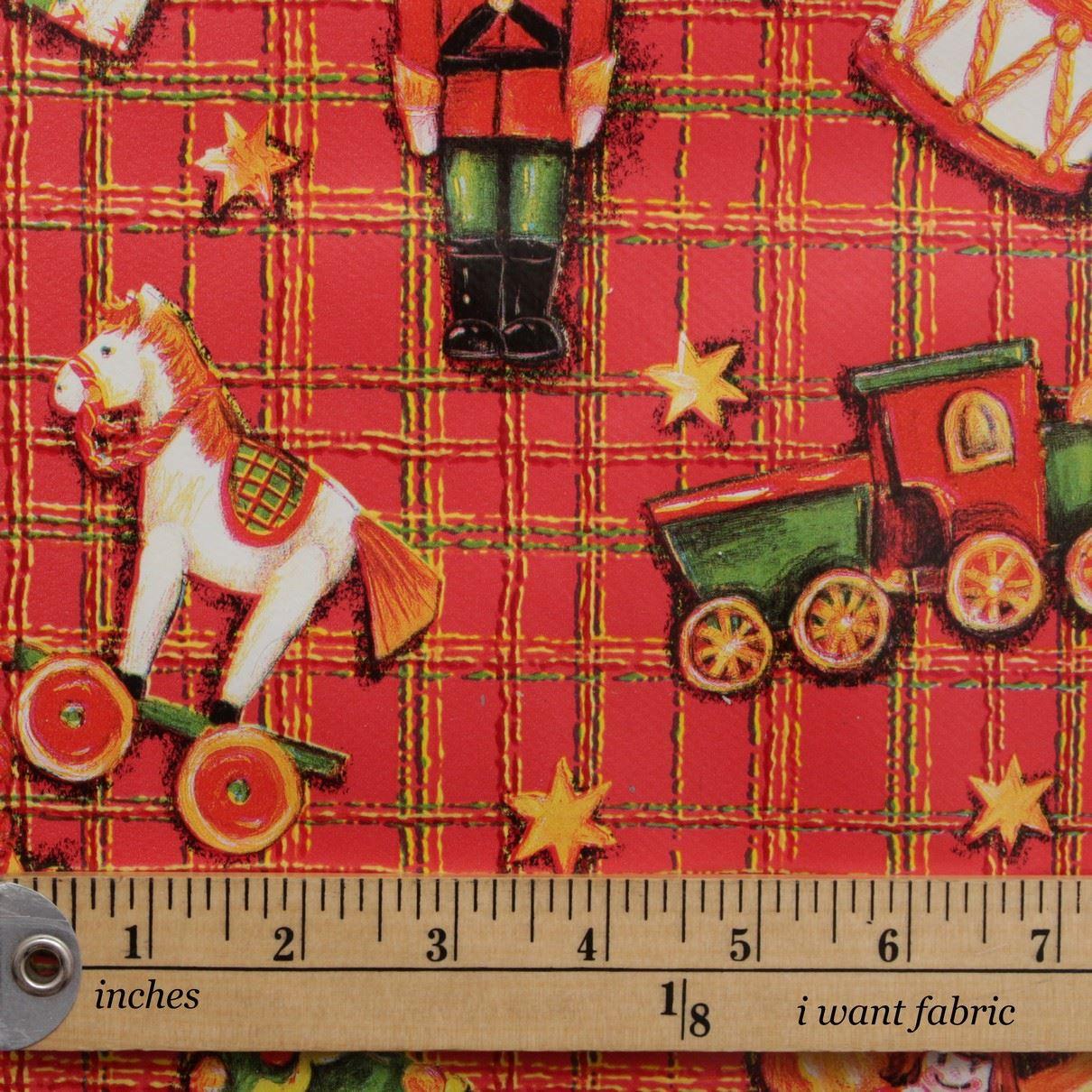 thumbnail 36 - CHRISTMAS PVC OILCLOTH VINYL FABRIC XMAS KITCHEN TABLE WIPECLEAN TABLECLOTHS