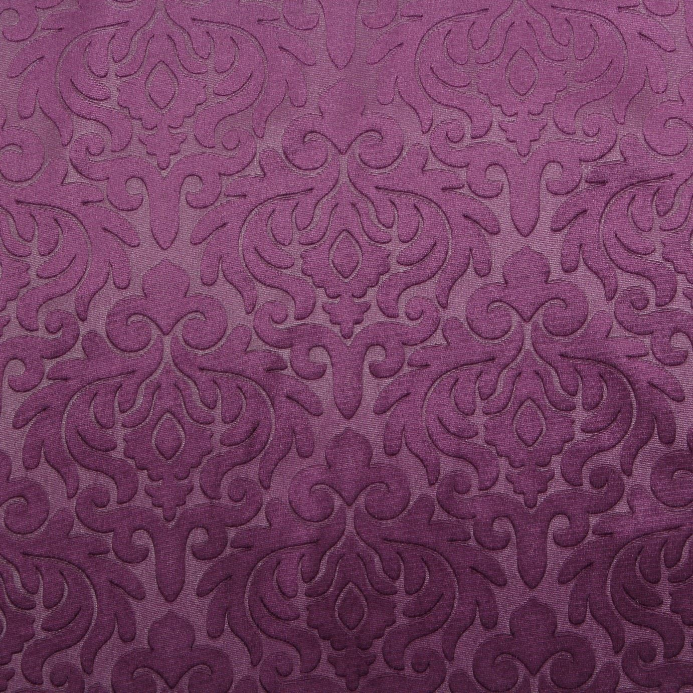 EMBOSSED FLORAL DAMASK DRESS CUSHION CURTAIN & MATCHING ...